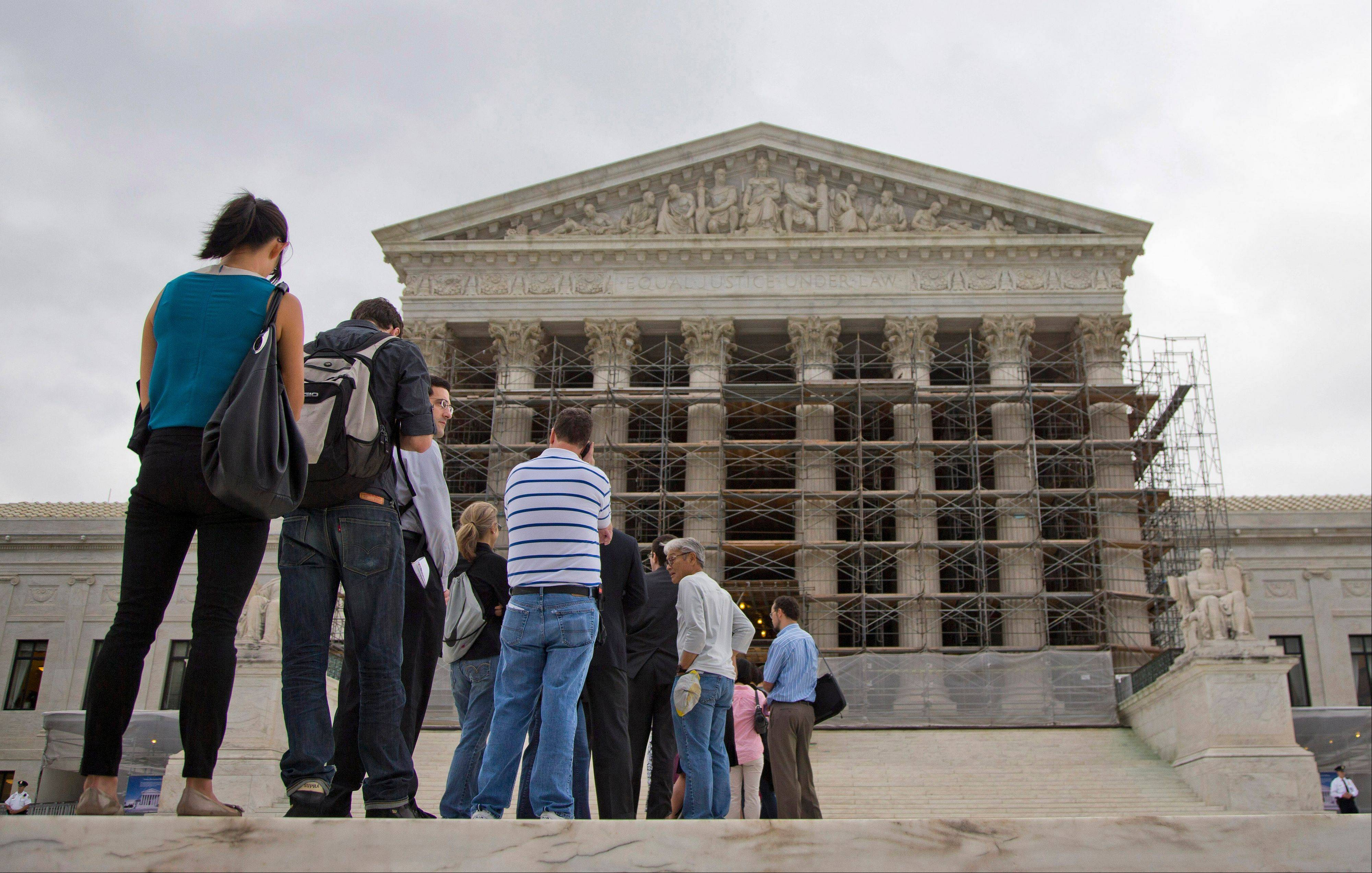 The Supreme Court asks God for help before every public session. Now the justices will settle a dispute over prayers in the halls of government. The case before the court involves prayers said at the start of town council meetings in Greece, N.Y., outside of Rochester.