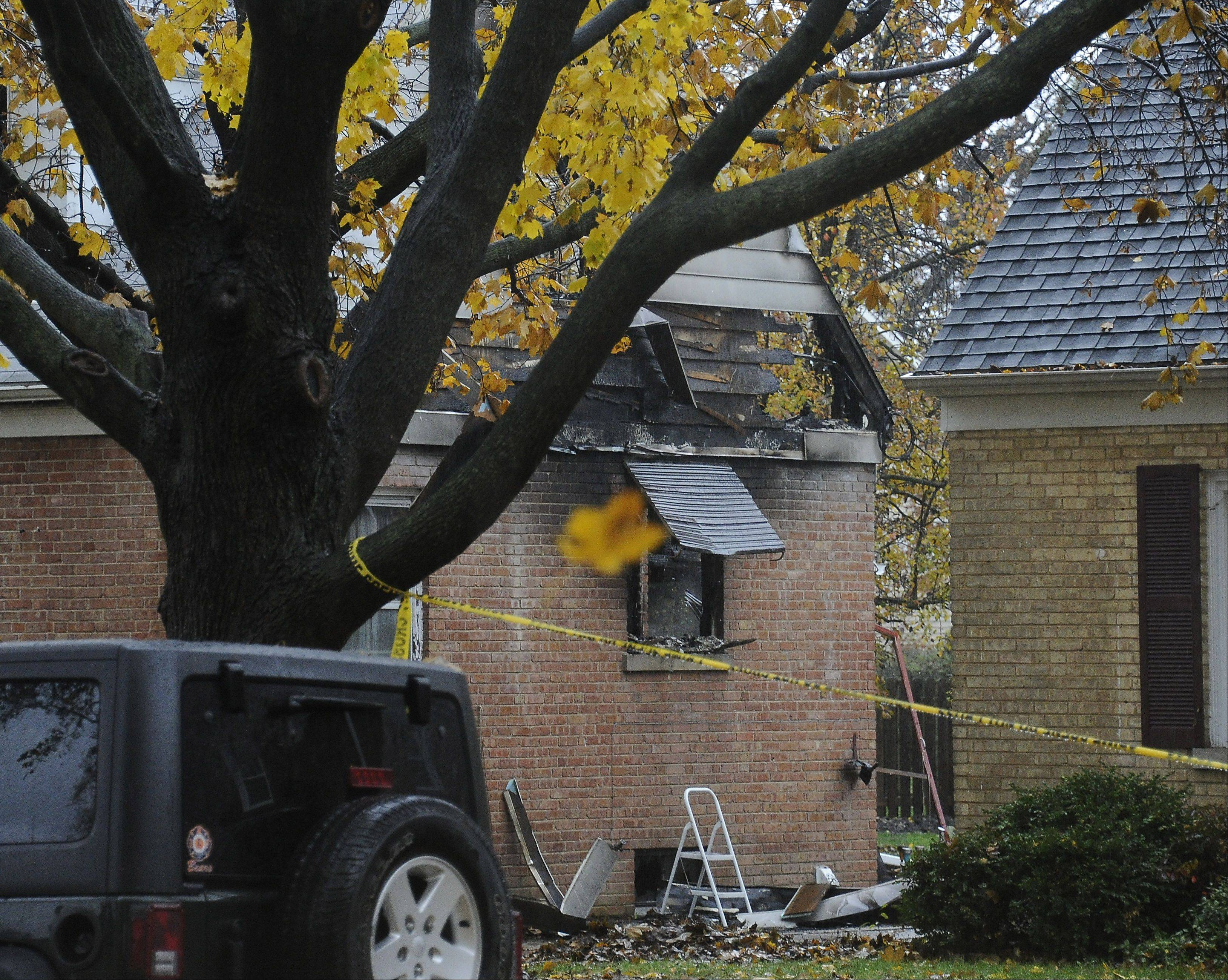 Arlington Heights fire officials don't suspect anything suspicious about the fatal fire that is believed to have started in a bedroom area.