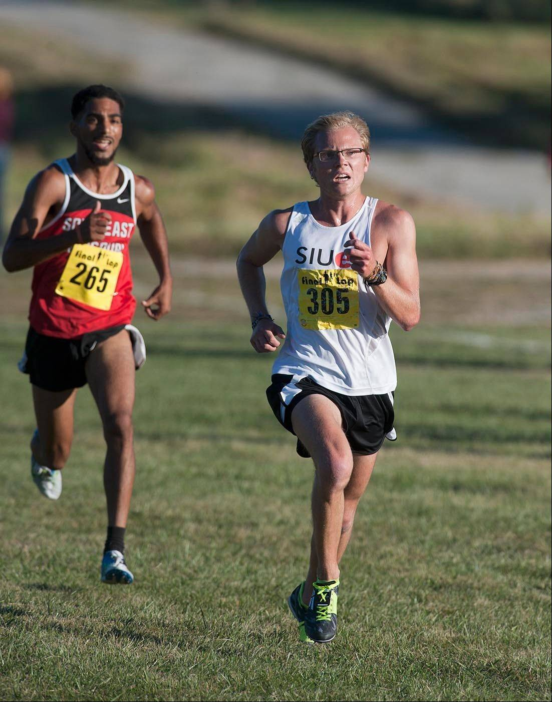 Burlington Central graduate Clint Kliem, now a sophomore at SIU-Edwardsville, recently became the school's first all-Ohio Valley Conference cross country runner.