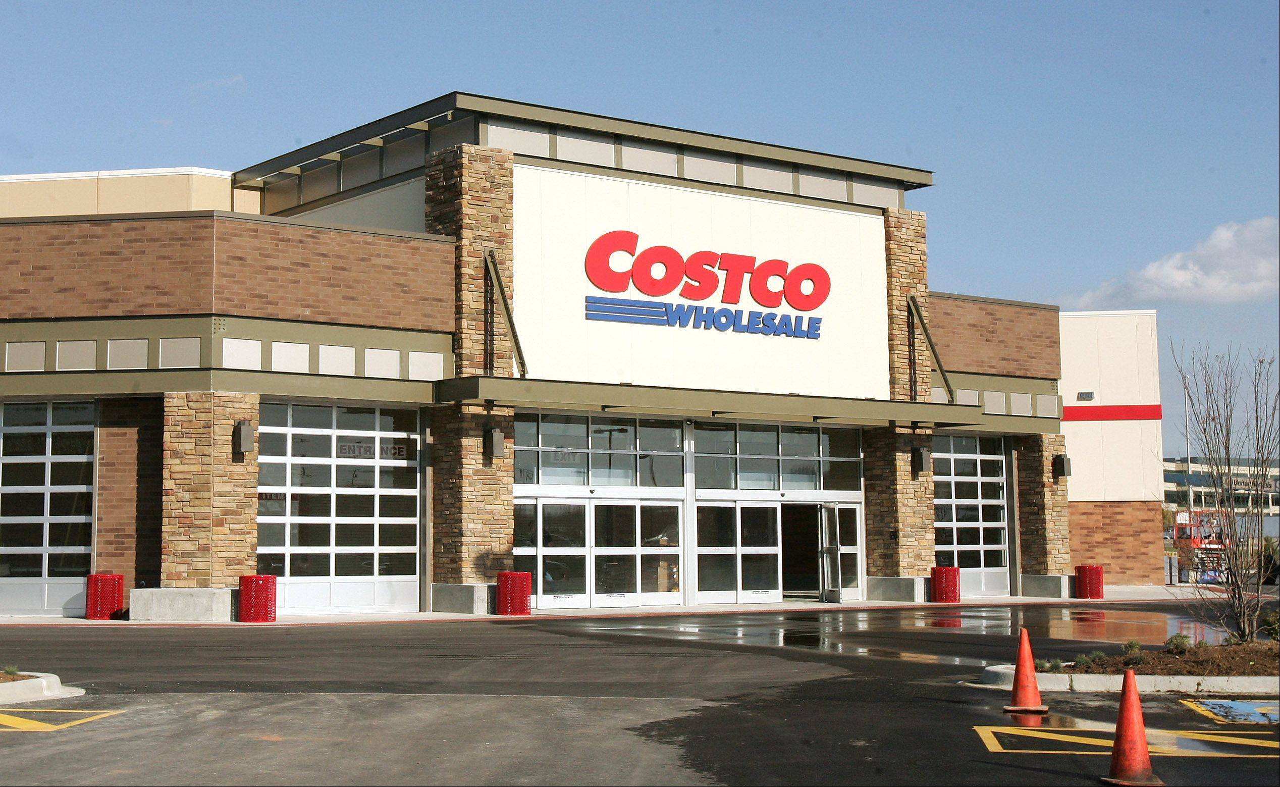 Gilbert R. Boucher III | Daily Herald file photo Costco's sales at stores open at least a year rose 3 percent in October, beating Wall Street's expectations.