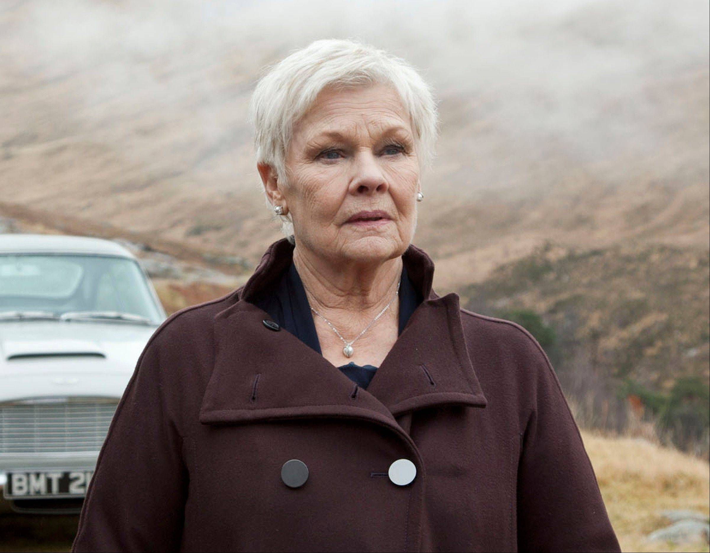 Judi Dench resurrected her James Bond character M in a video released Thursday as part of the Weinstein Co.�s appeal to the Motion Picture Association of America to change the rating of Dench�s latest film, �Philomena.�