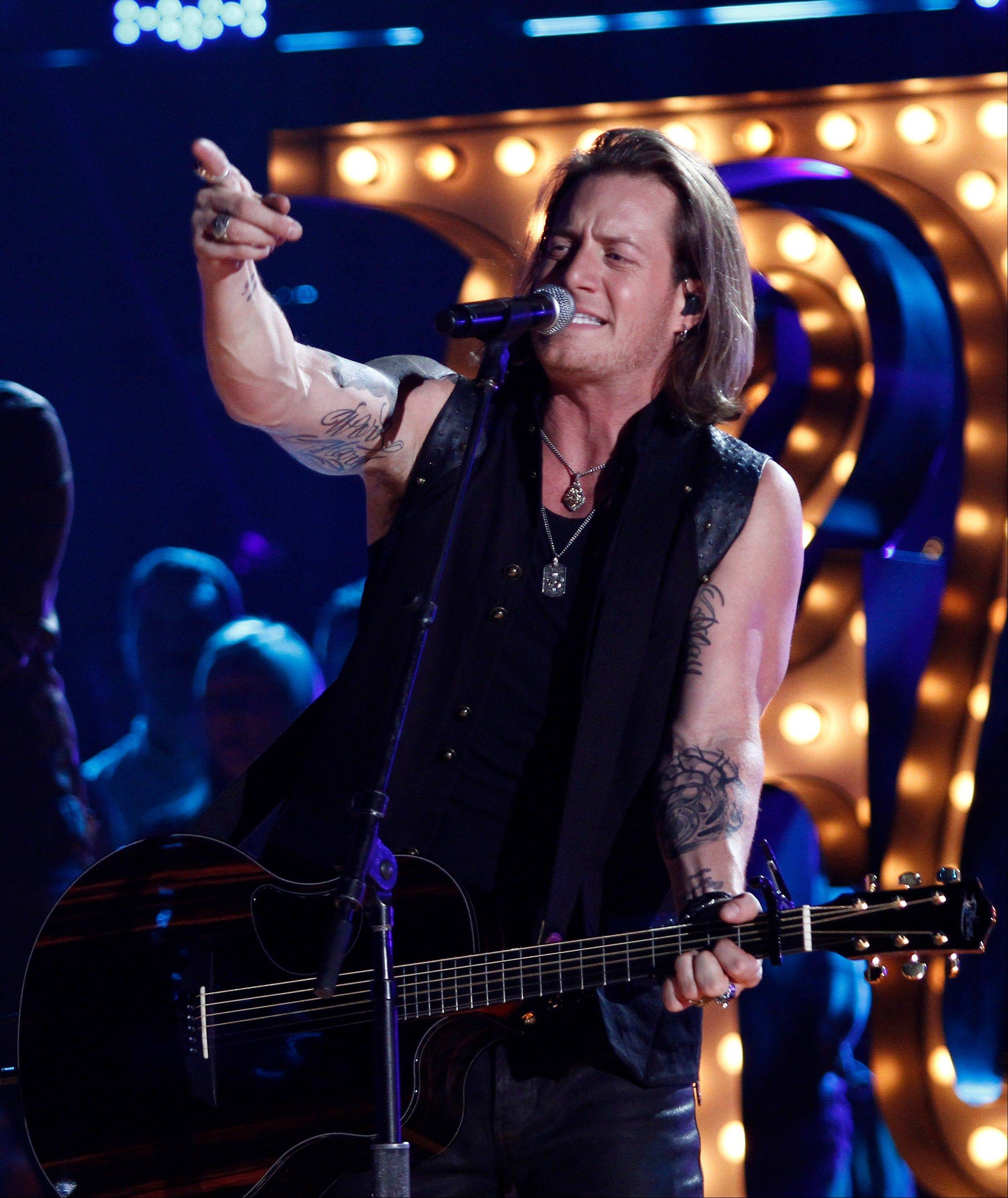 Florida Georgia Line's Tyler Hubbard performs