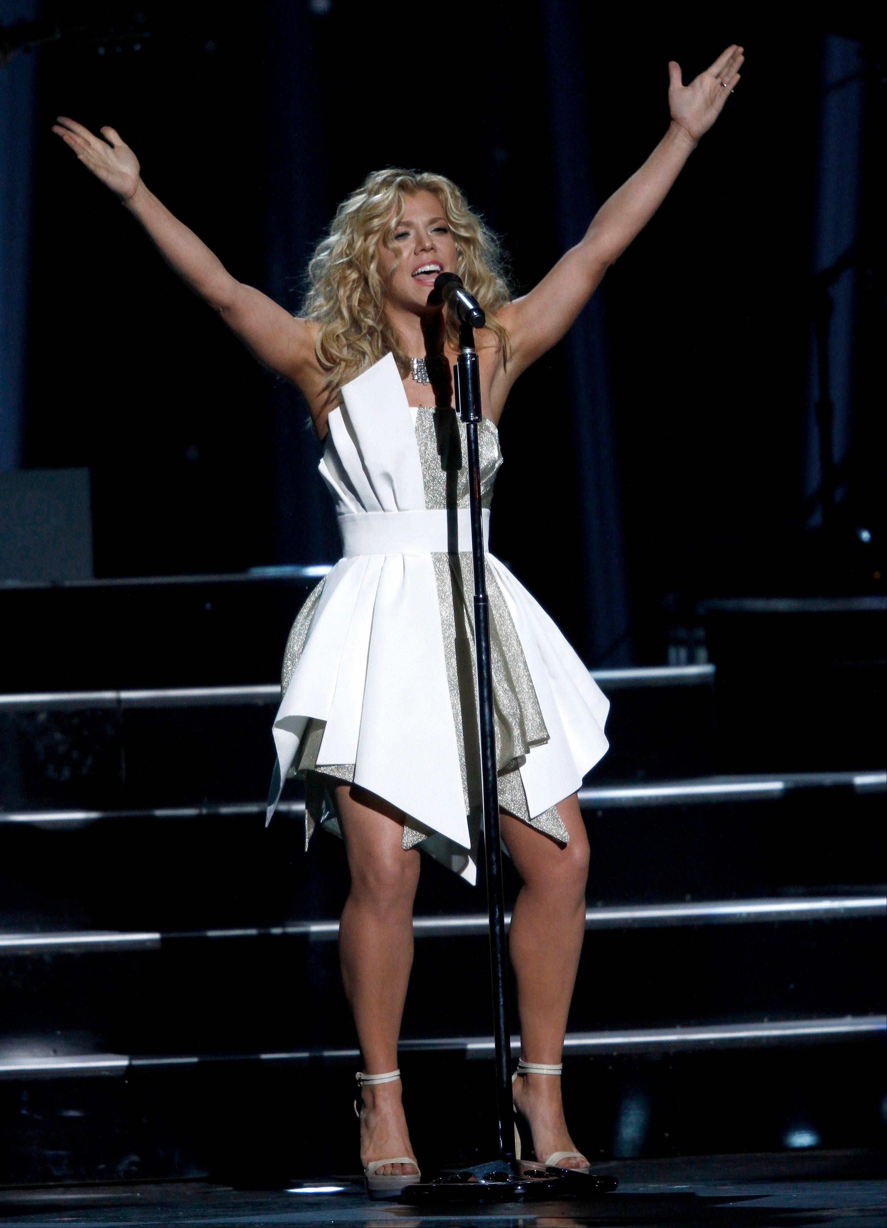 Kimberly Perry, of The Band Perry, performs