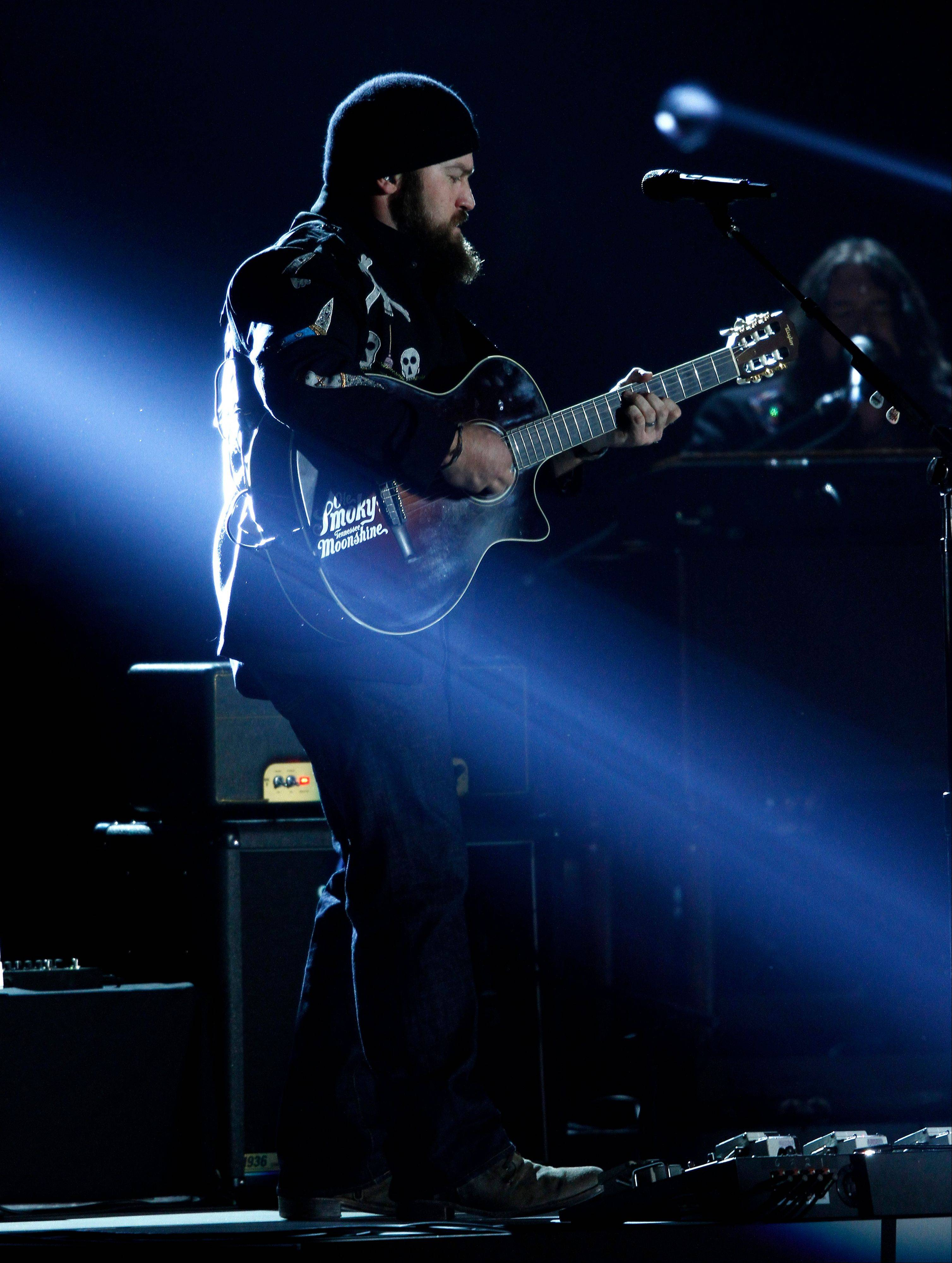 Zac Brown performs.