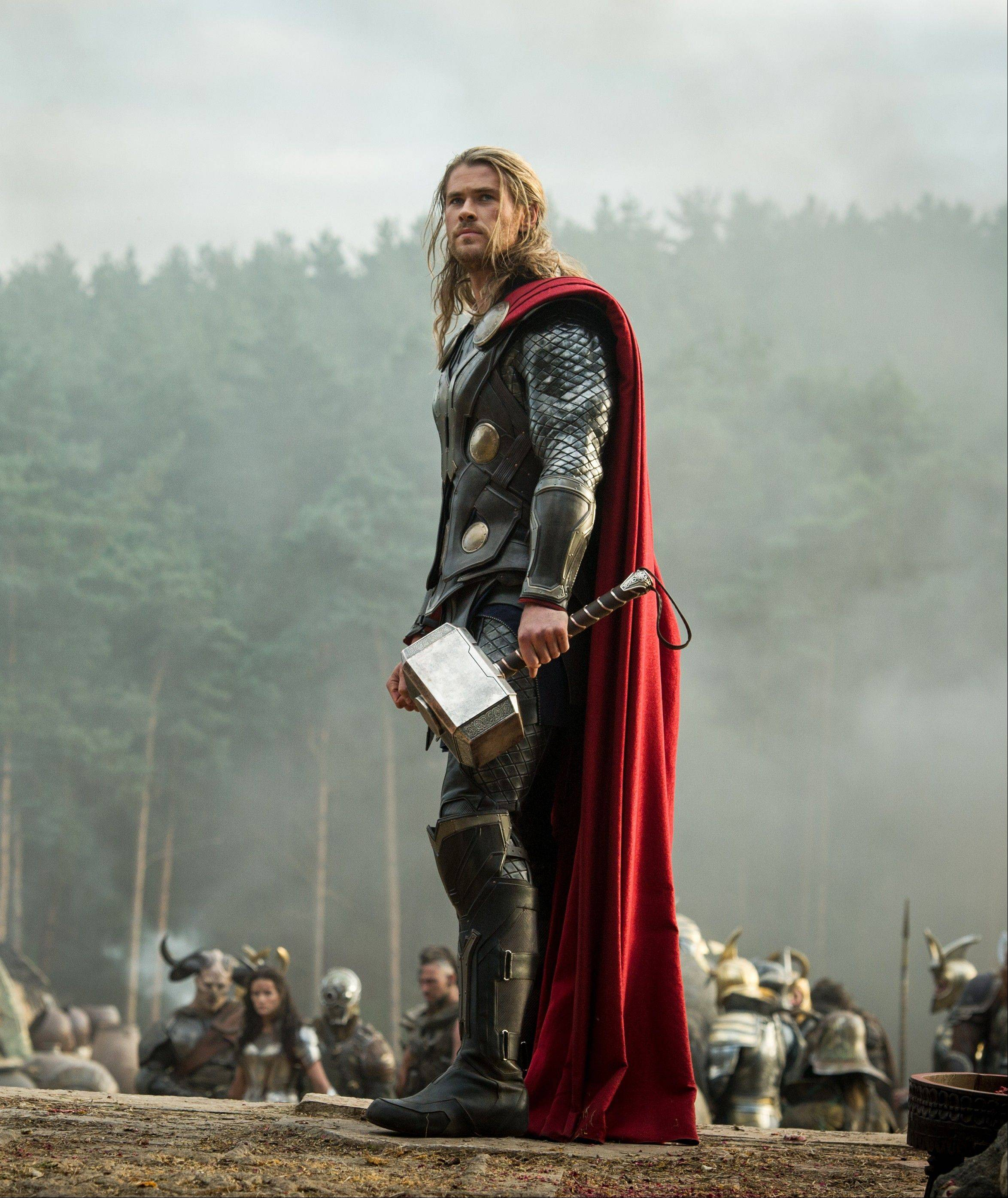 "The God of Thunder (Chris Hemsworth) discovers that saving the universe can be a lonely job in Alan Taylor's ""Thor: The Dark World."""