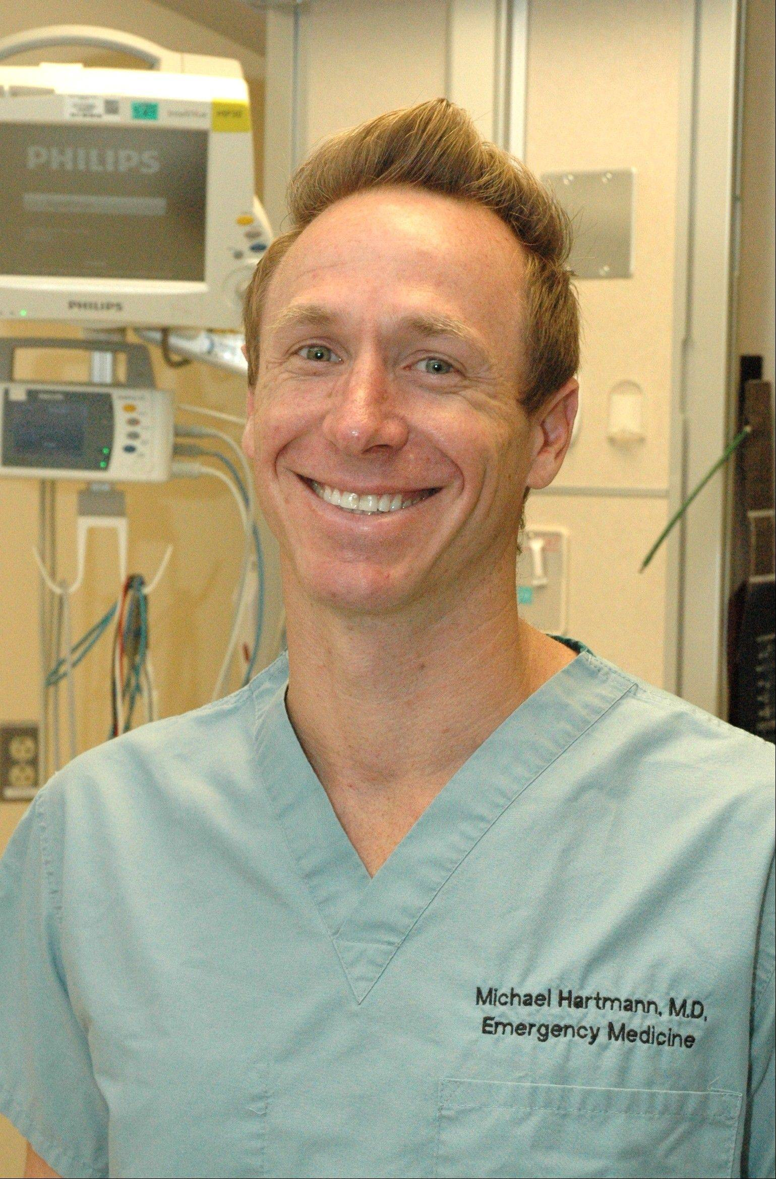 Emergency room physician Dr. Michael Hartmann will serve Sunday as medical director of the inaugural Edward Hospital Naperville Marathon and Half Marathon.