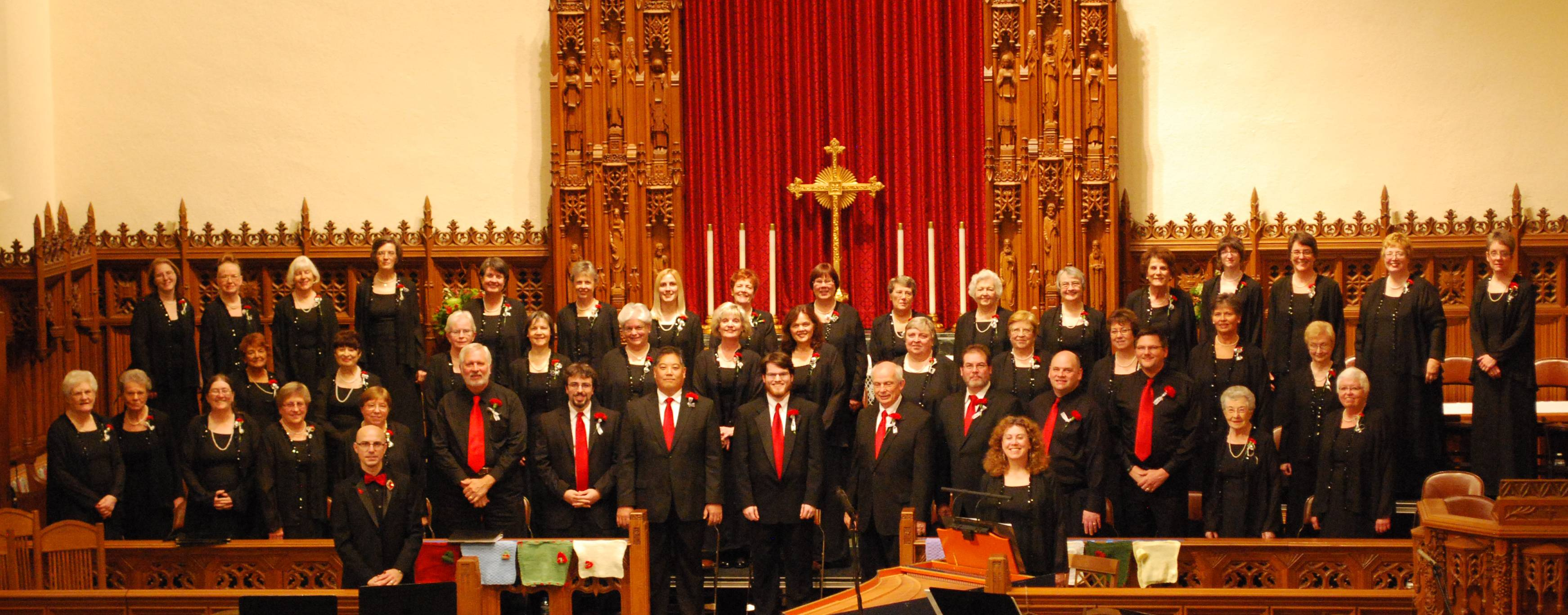 The Northwest Choral Society presented a 2012 holiday concert at Grace Lutheran Church in River Forest.