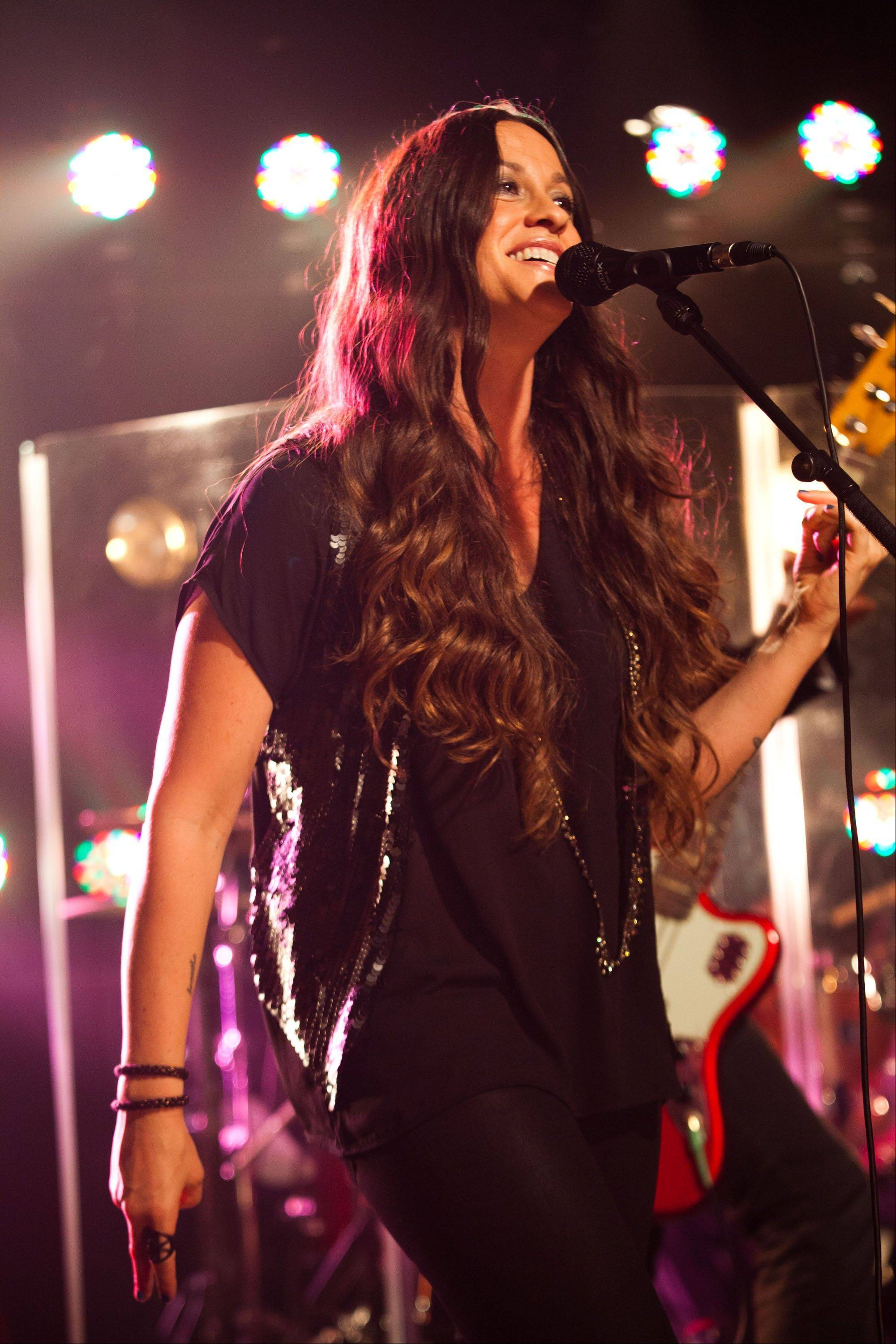 Singer-songwriter Alanis Morissette said Friday she hopes to adapt her 1995 breakthrough album �Jagged Little Pill� for the stage. Though no story is yet written, a workshop is planned for next year.