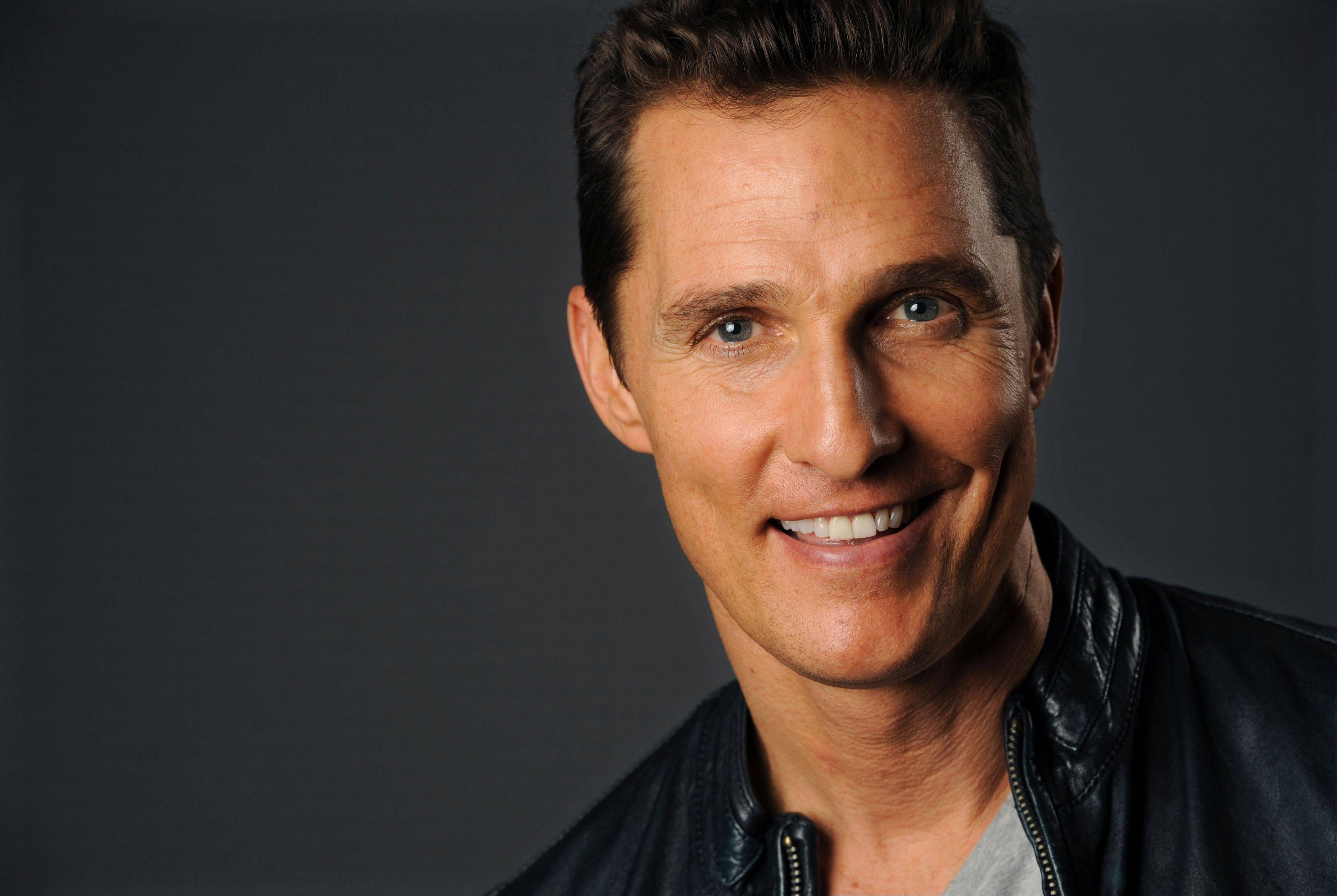 "Matthew McConaughey is earning Oscar buzz for his role in ""Dallas Buyers Club."""