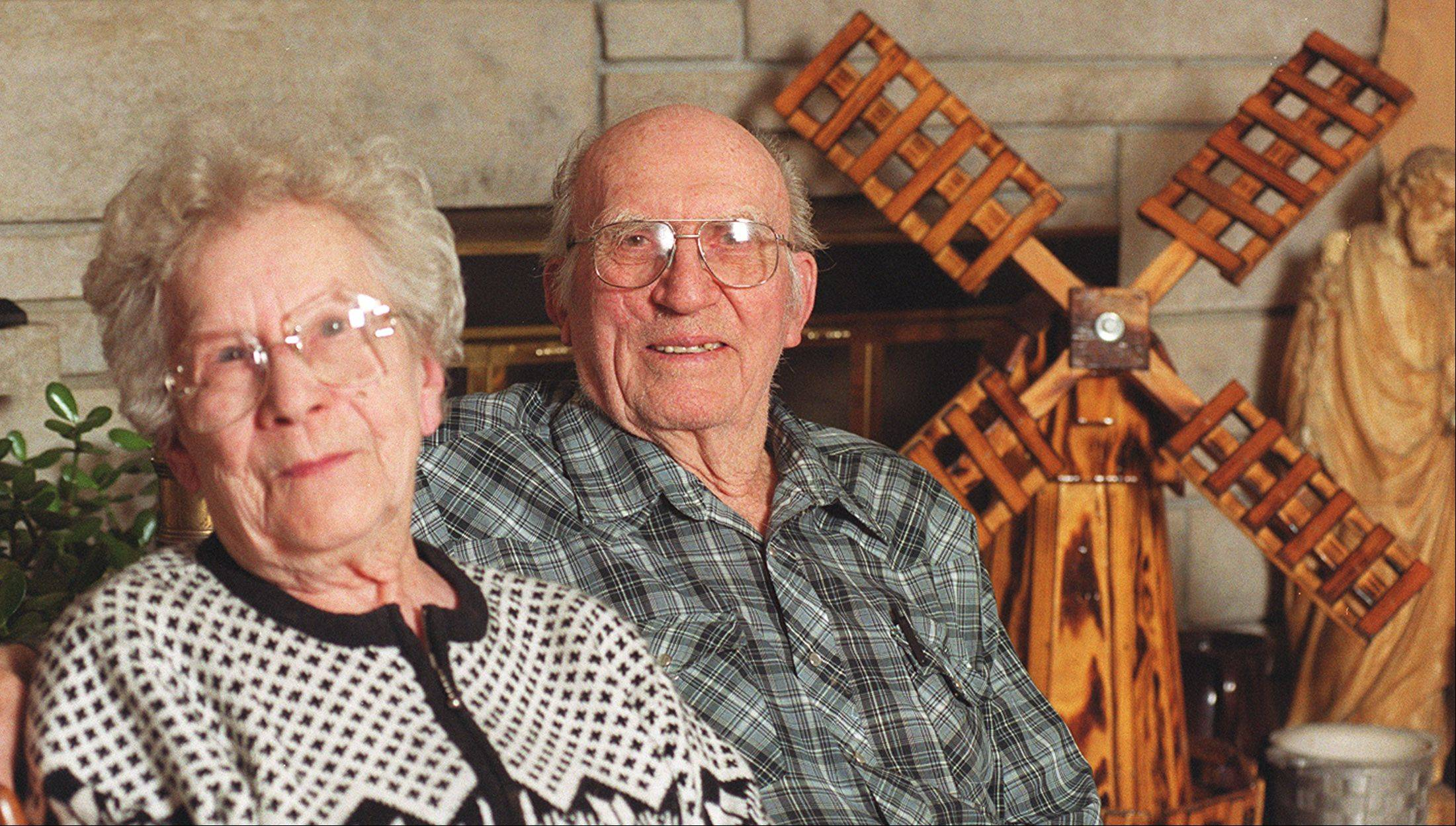 Fran and George Gebes of Batavia were the 2002 Batavia Citizens of the Year. George died Monday, at age 98. Fran died in 2011. They helped co-found the Batavia Overseas Post 1197, Veterans of Foreign Wars. George was also an alderman.