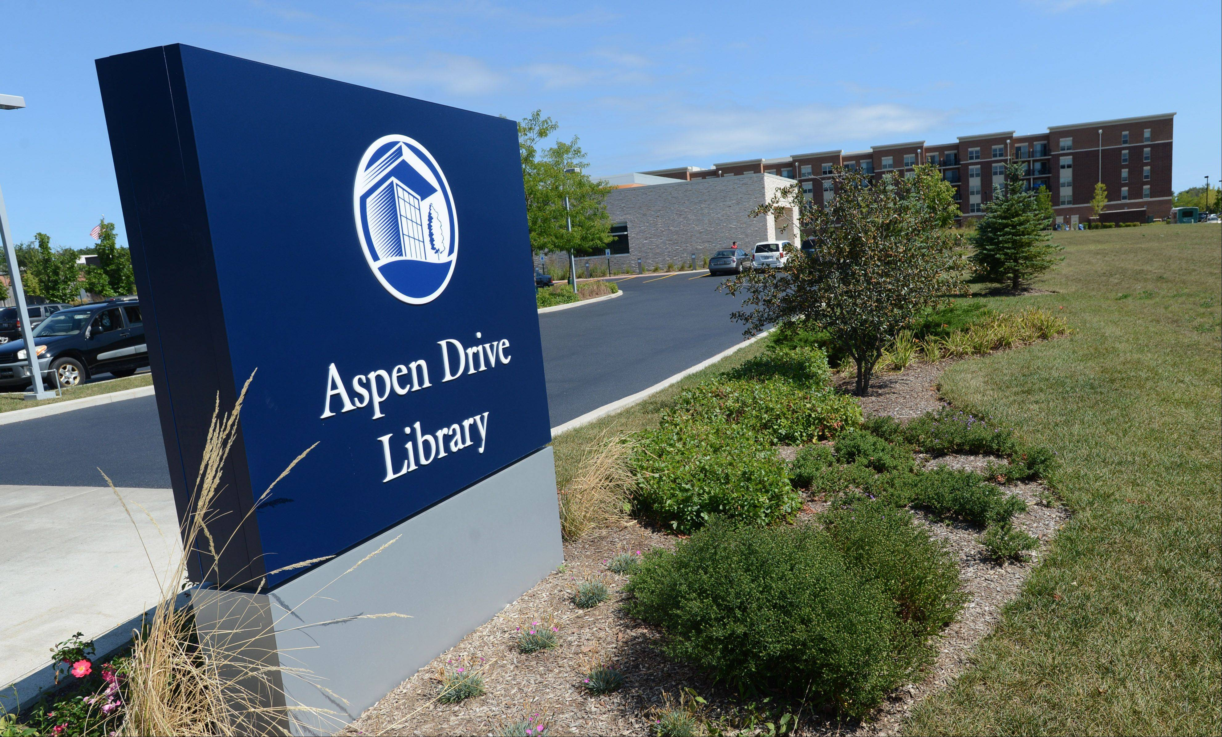 Officials are discussing expanding the Aspen Drive Library in Vernon Hills.