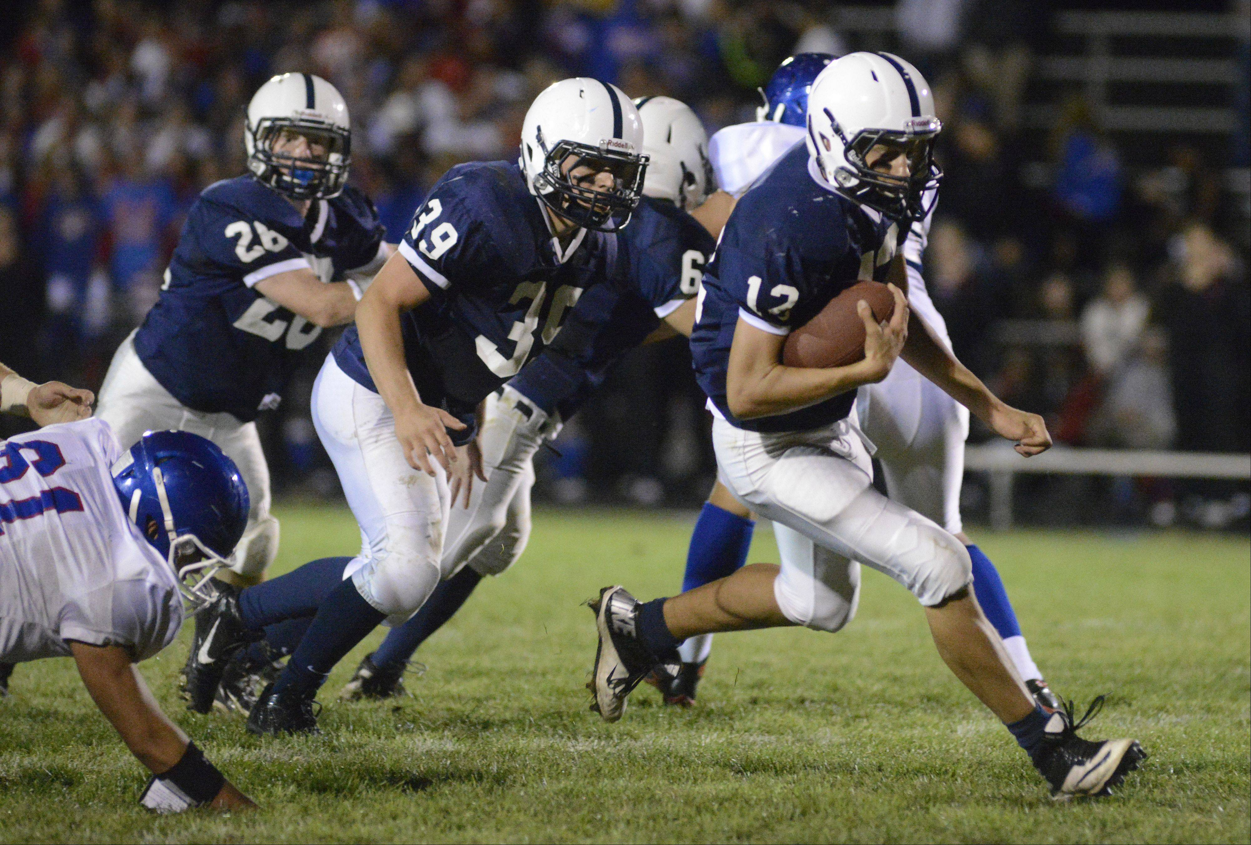 Cary-Grove quarterback Jason Gregoire will lead the Trojans� offense against top-ranked and undefeated Rockford Boylan Saturday in a Class 6A second-round playoff game at Cary-Grove.