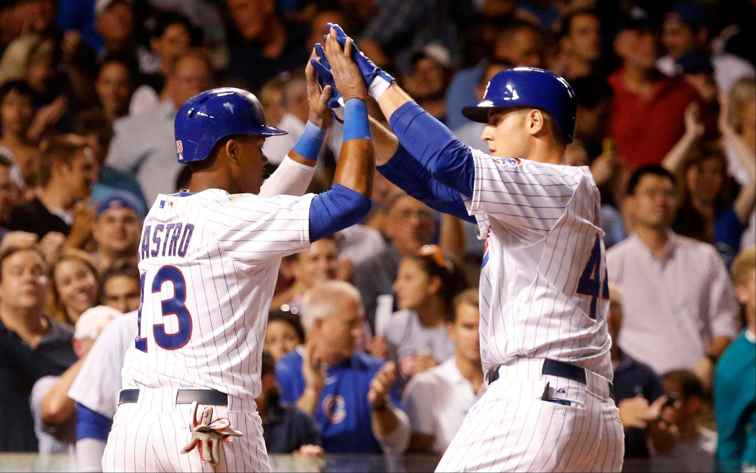 Will new Cubs manager Rick Renteria get more from Anthony Rizzo, right, and Starlin Castro, the core of the Cubs lineup?