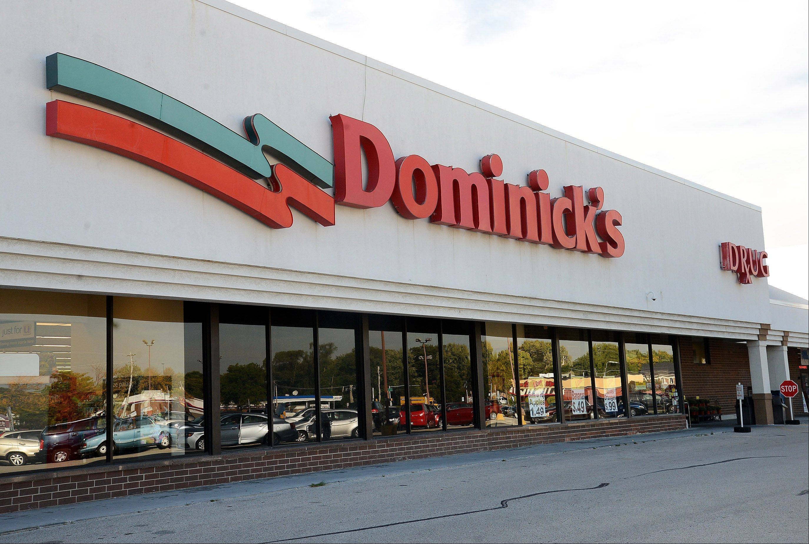 The Dominicks store at Golf and Elmhurst Roads in Mount Prospect. Dominicks has announced it is closing all of its stores by early 2014.