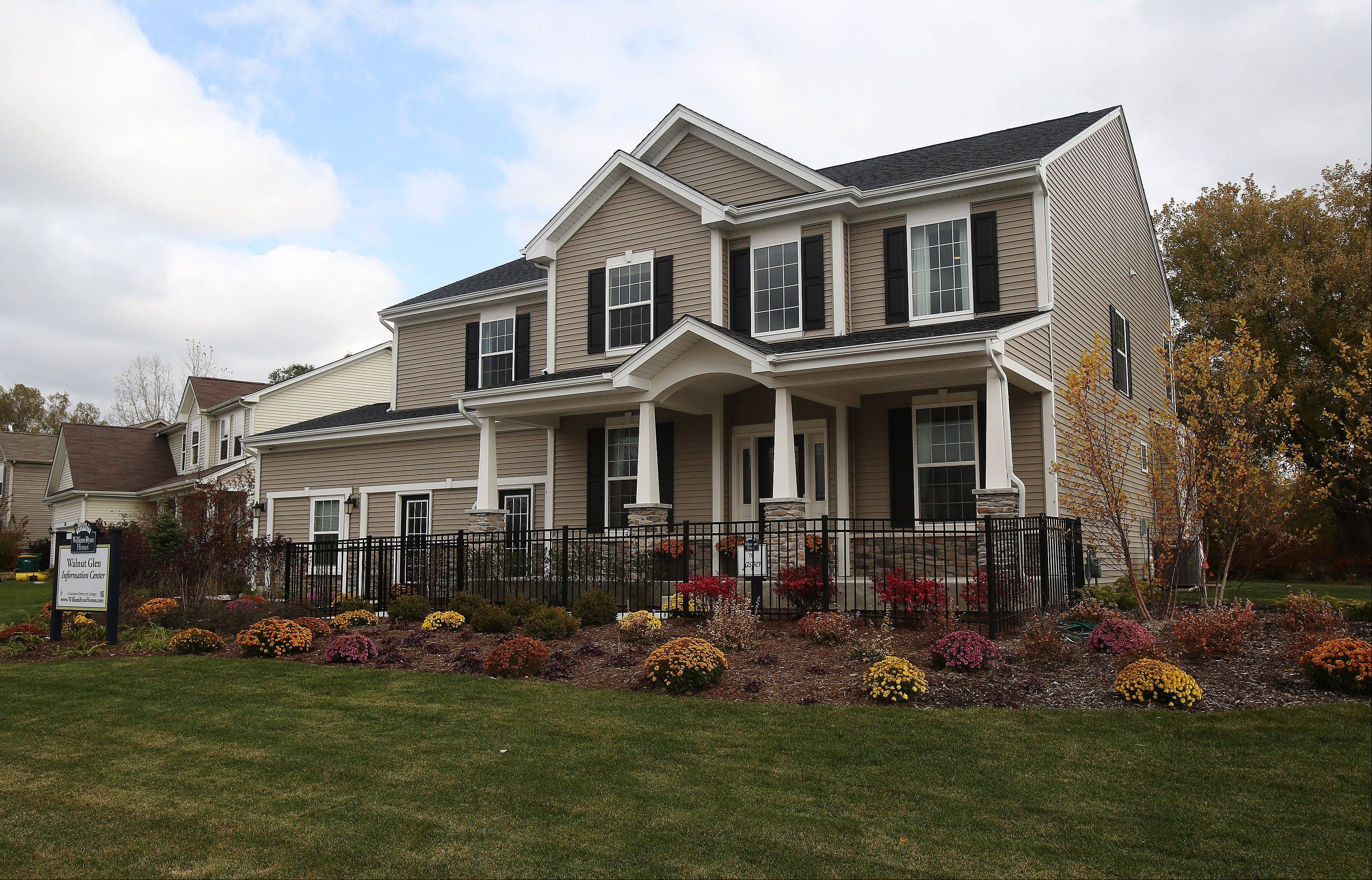 The Jasper model is one of 11 floor plans offered at Walnut Glen in Island Lake.