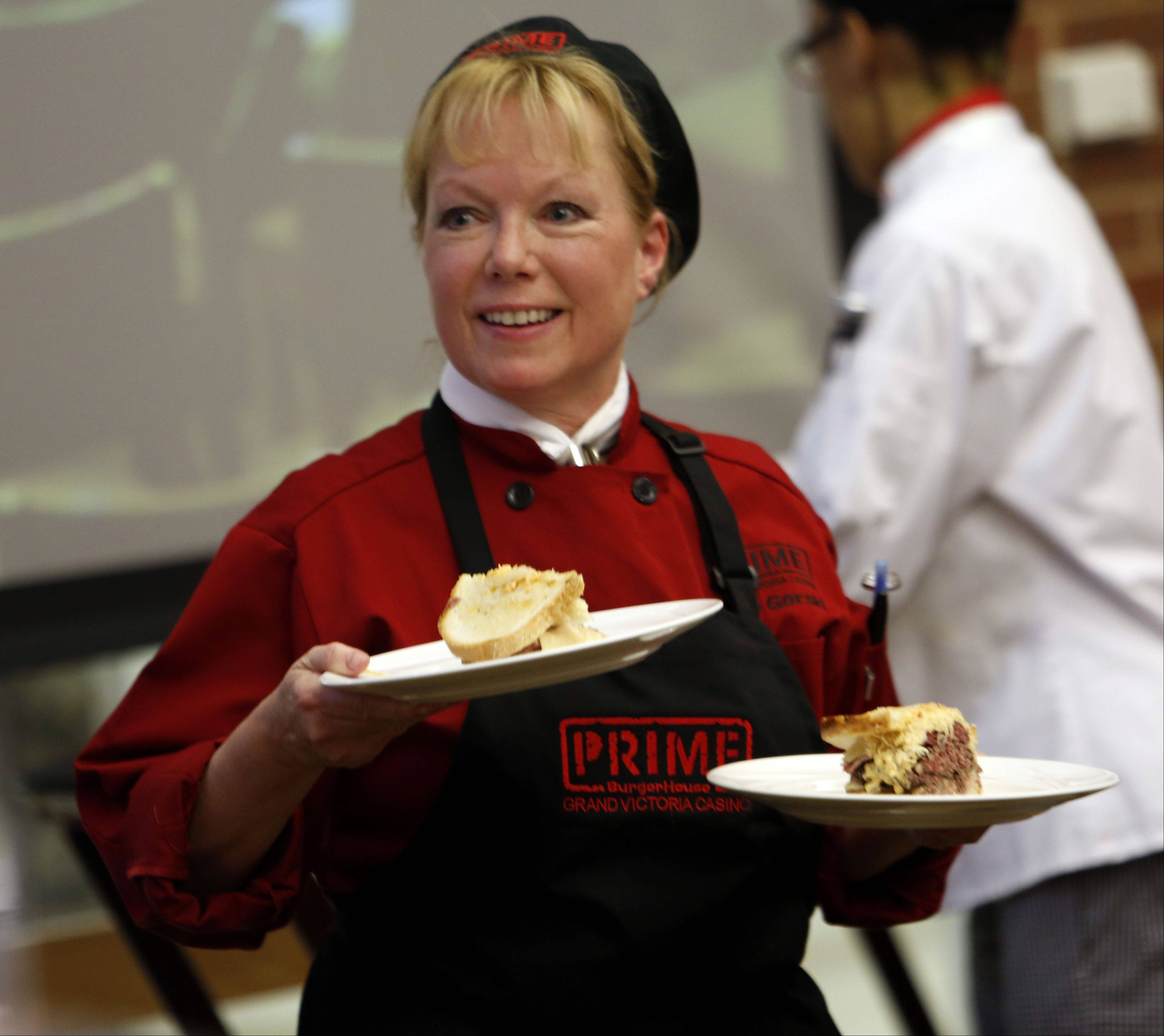 Elgin Community College's fifth annual ECC-Prime BurgerHouse Burger Competition was held Friday at the Spartan Terrace Restaurant in Elgin.