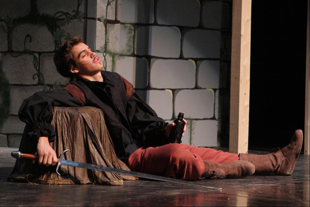 "Angelo Gelfuso plays Inigo Montoya in Geneva High School's production of ""The Princess Bride."""