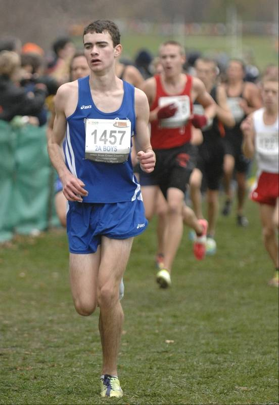 Vernon Hills' Ben Mohrdieck, here competing in last year's state meet, has  much