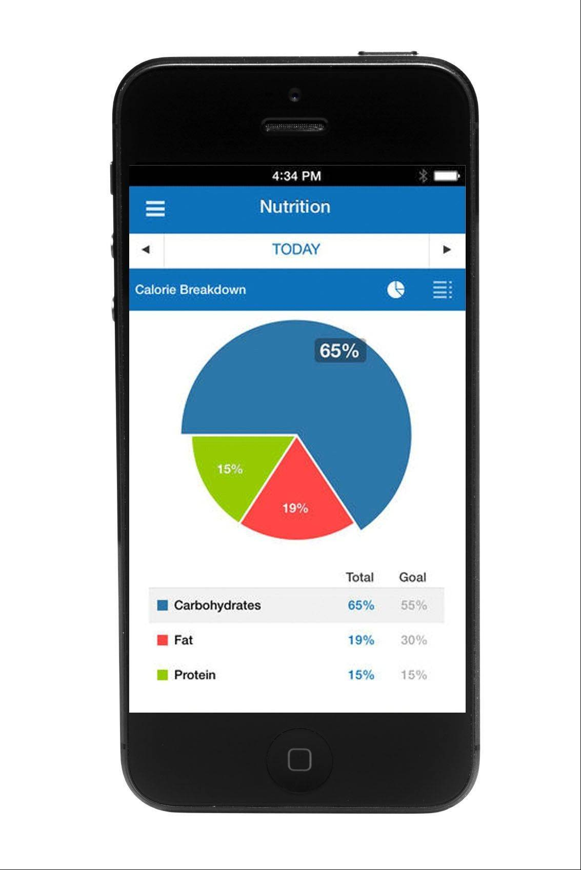 The My Fitness Pal app helps you manage holiday calorie intake and keeps tabs on exercise.