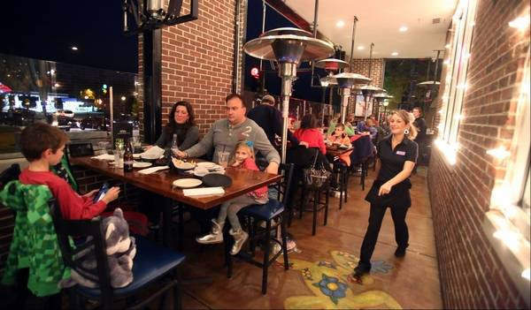 outdoor dining in this weather heated bar and restaurant patios