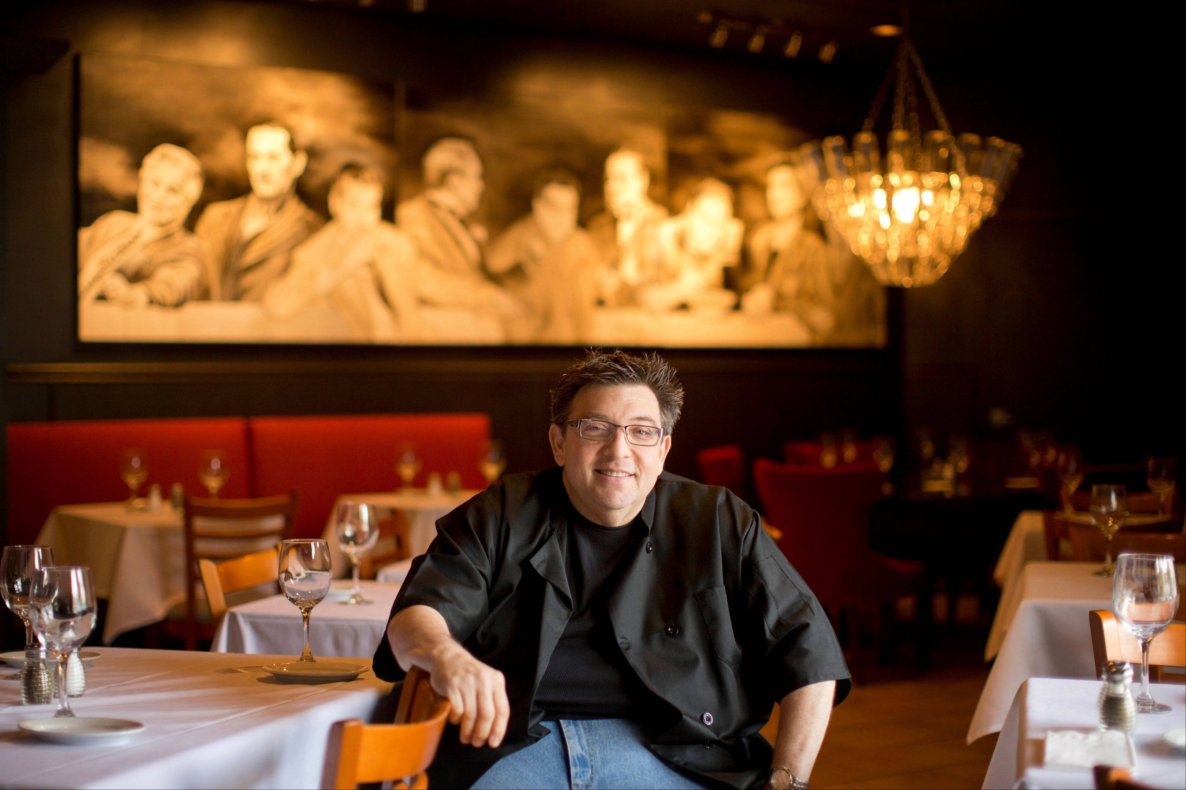 Superior Angelo Lutz At His Newly Expanded Restaurant, The Kitchen Consigliere, In  Collingswood, N.J.