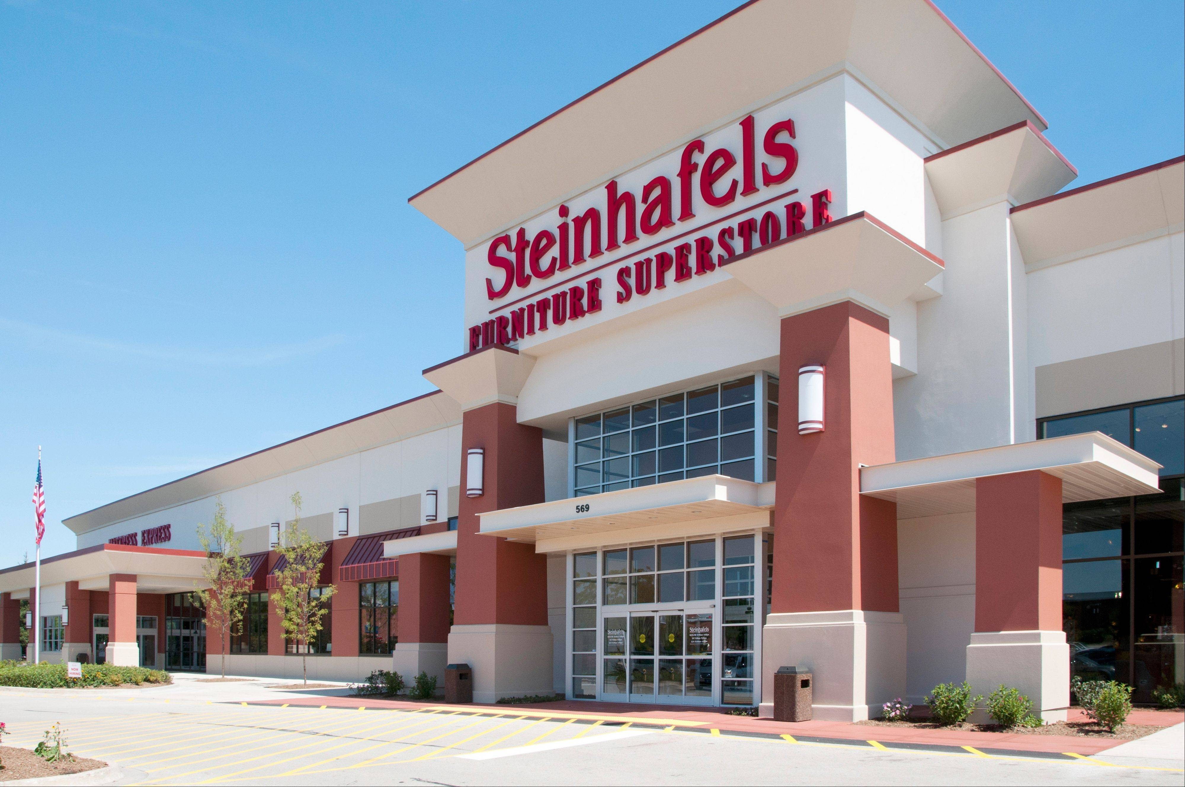 The Steinhafels furniture superstore in Vernon Hills opened in 2011.