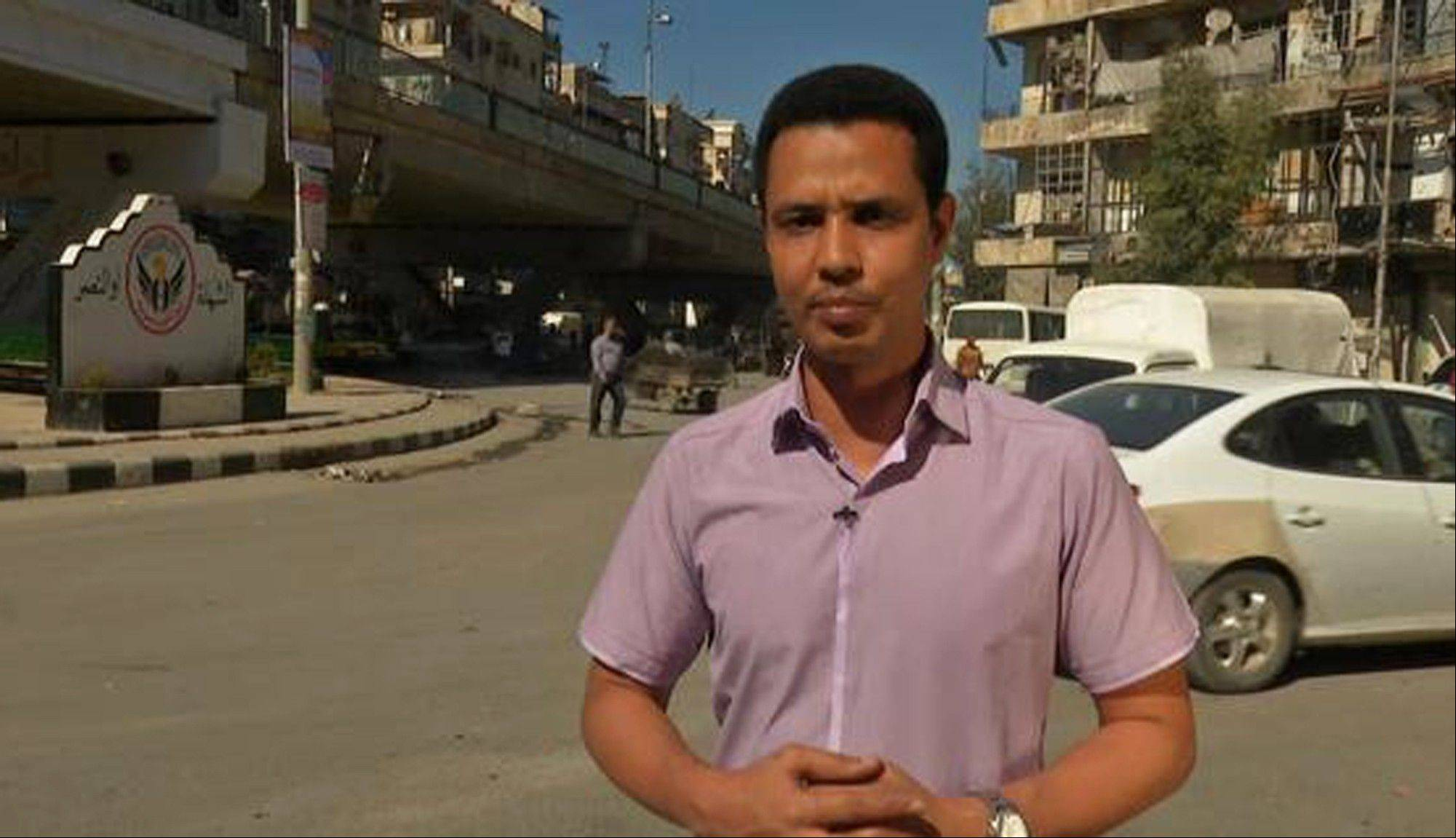 Ishak Moctar, a Mauritanian national, reports from Syria. Sky News website reports Moctar has been missing since October.