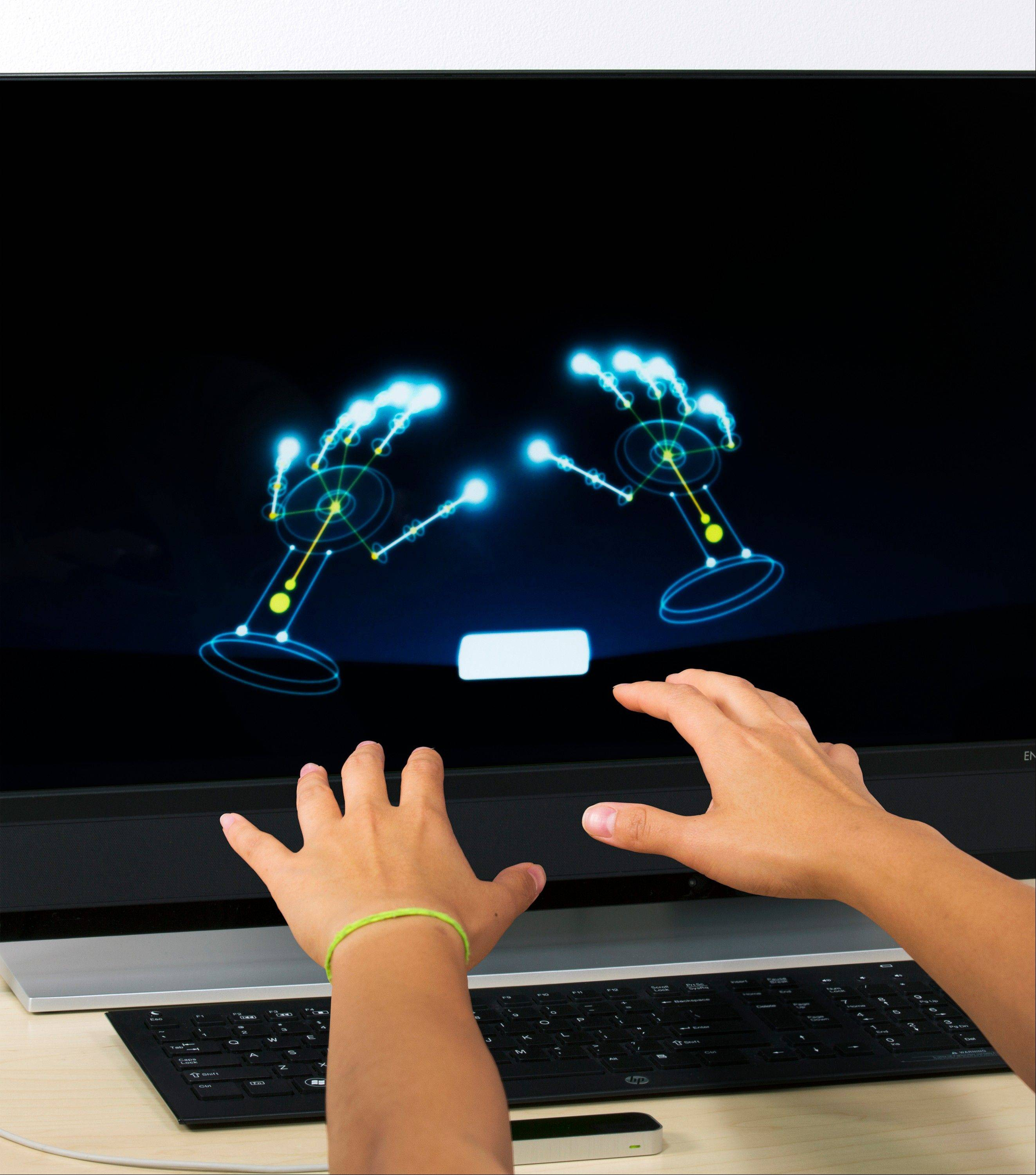 The Leap Motion Controller went on sale earlier this year.