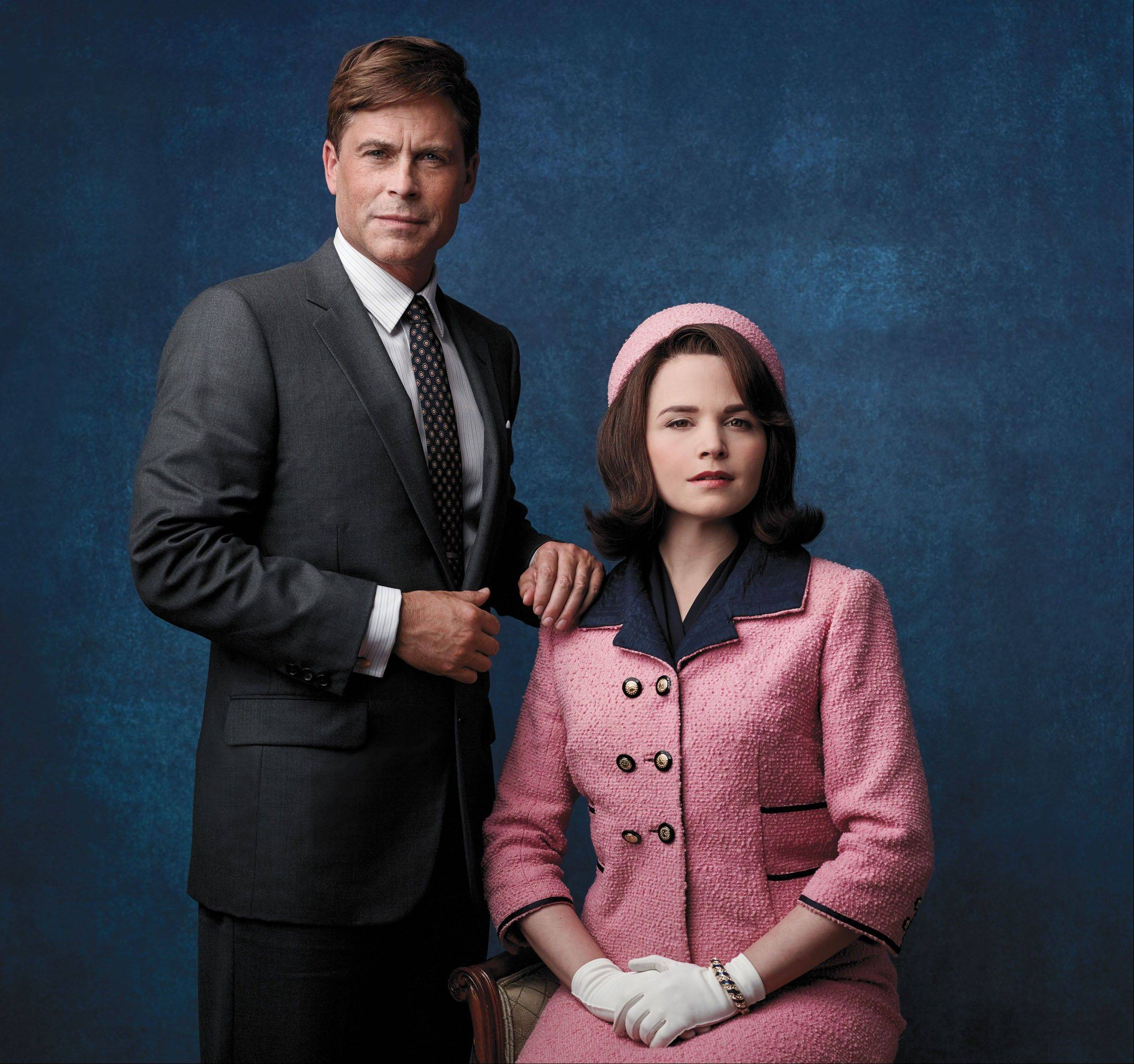 """There's a connection playing him that is certainly deeper than playing other roles,"" Rob Lowe said of playing President John F. Kennedy in ""Killing Kennedy."" Ginnifer Goodwin portrays Jackie Kennedy in the movie."
