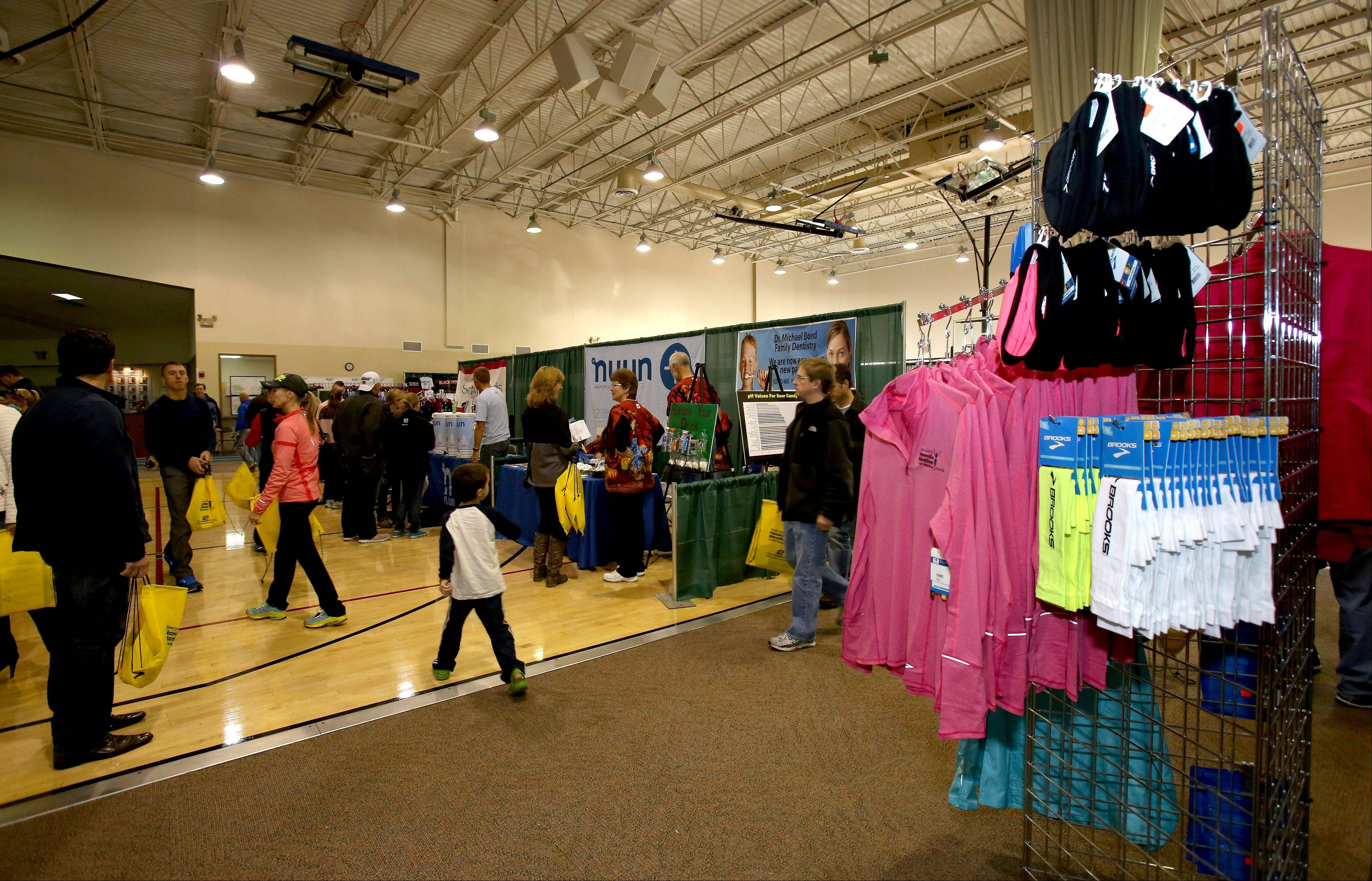 Racers who picked up their packets and last-minute gear at the race expo Friday and Saturday now are ready to run the inaugural Edward Hospital Naperville Marathon and Half Marathon. The race steps off at 7 a.m. Sunday from North Central College in downtown.