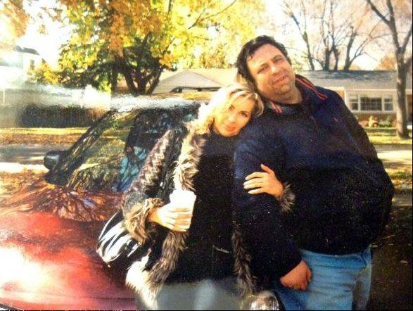 Both natives of Kiev in the Ukraine, Alex and Svitlana Kandelis married two years ago on her birthday. She was killed in an accidental fire Wednesday in Arlington Heights.
