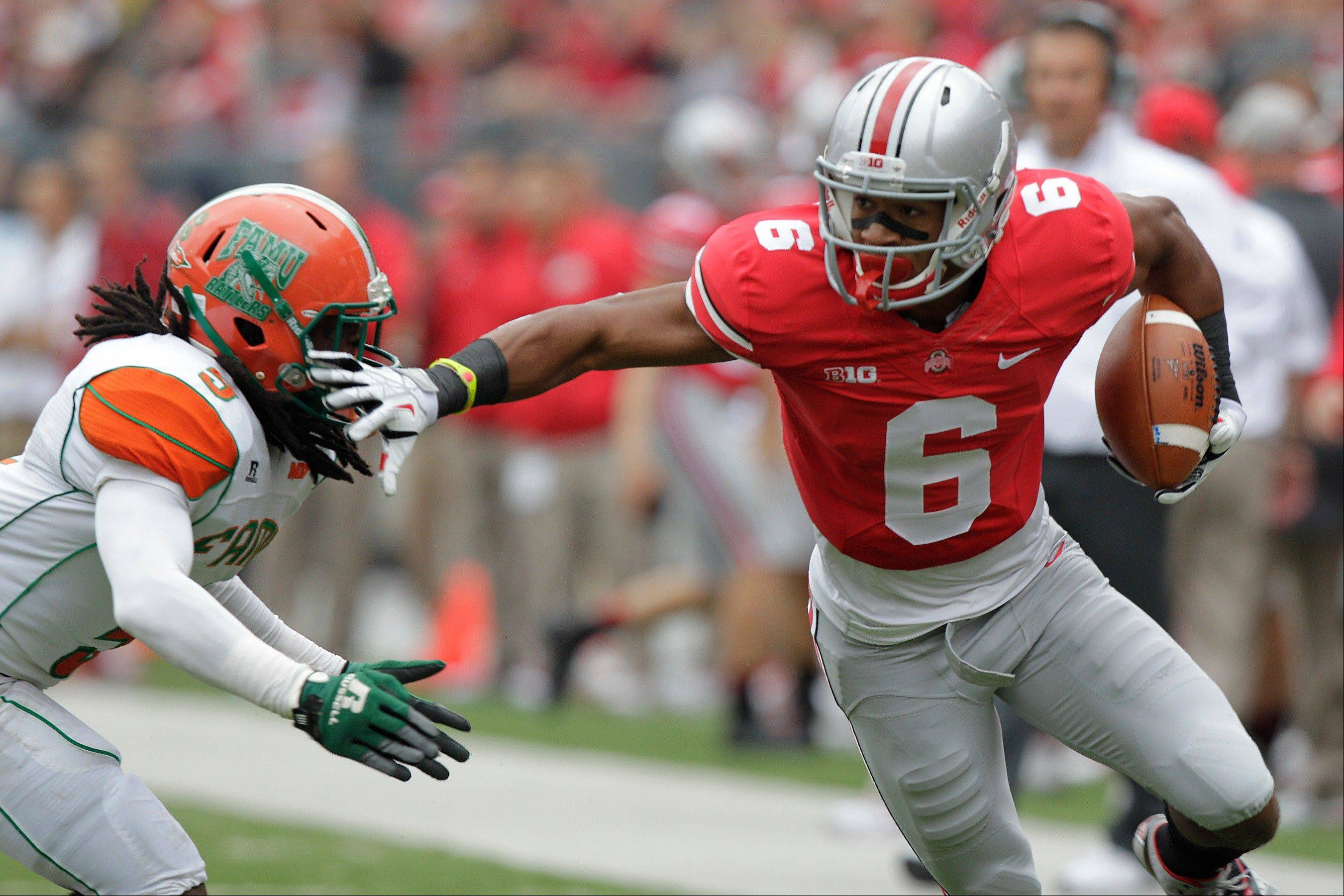 Ohio State wide receiver Evan Spencer thinks the No. 3 Buckeyes are better than No. 1 Alabama and No. 2 Florida State.