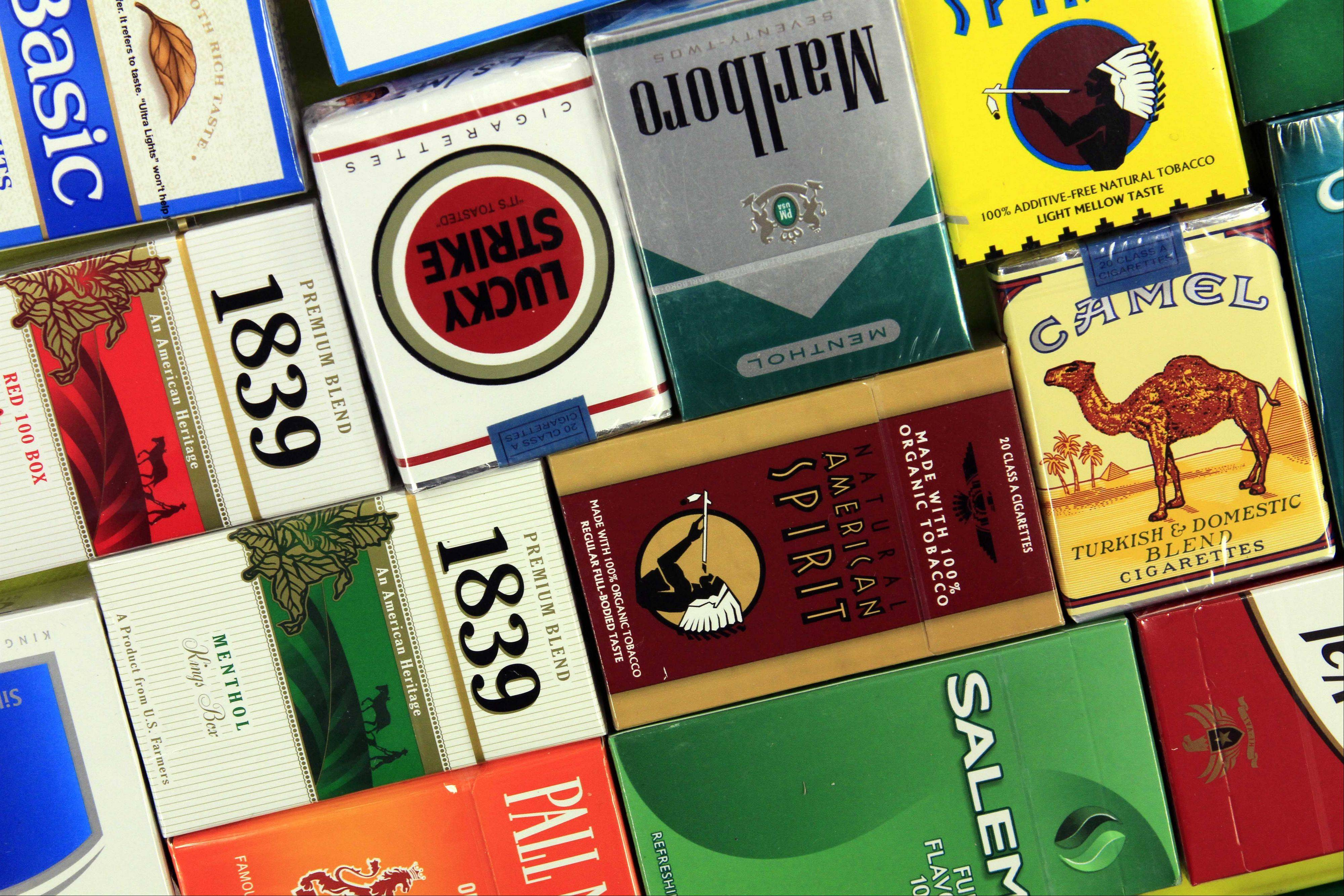Chicago authorities say they're cracking down on the illegal sale of cigarettes.