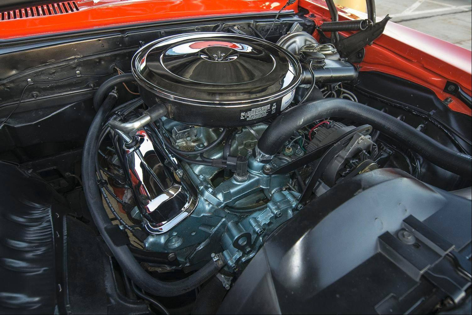 The Firebird's 400-cubic-inch V-8 engine had to be rebuilt in 2008.