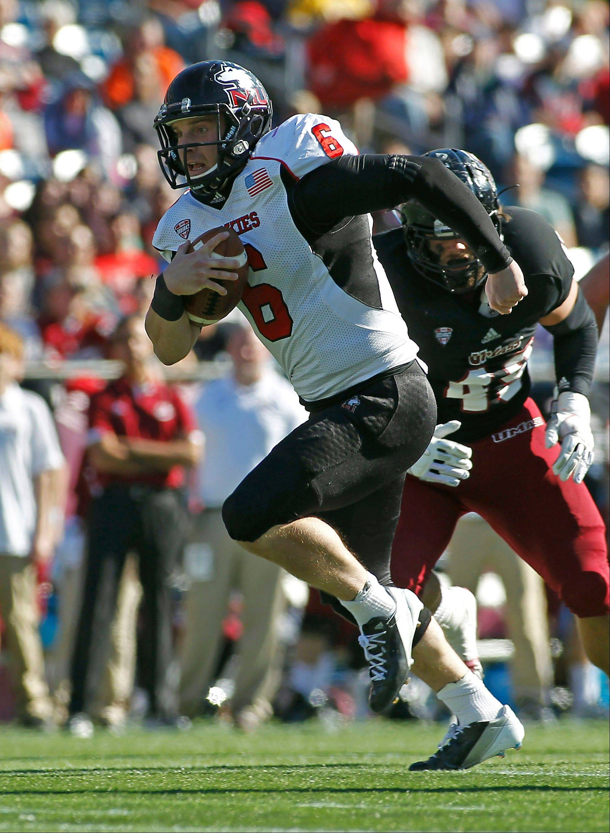 Quarterback Jordan Lynch and the Northern Illinois Huskies are not about to look past Wednesday night's big home game against Ball State.