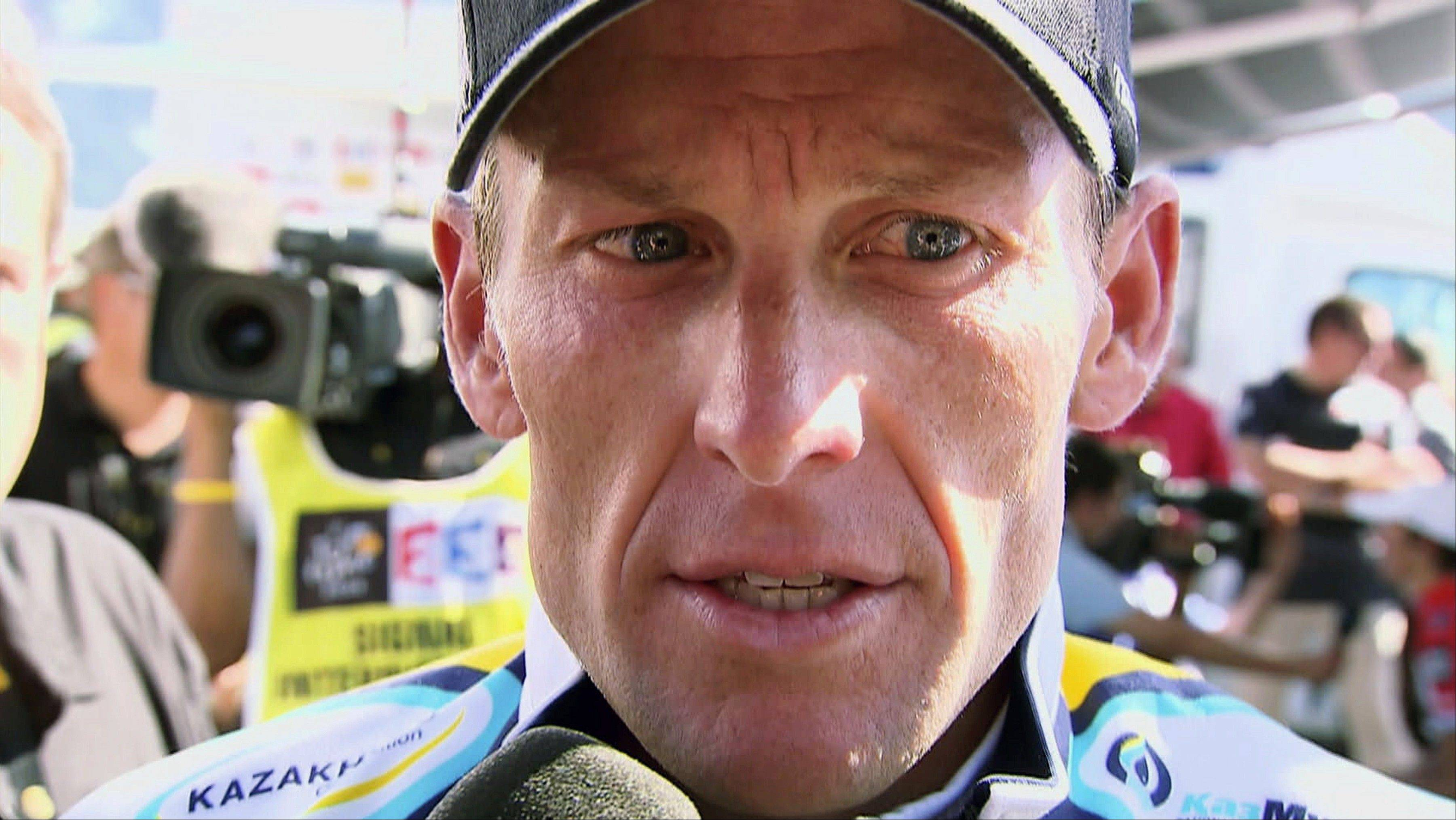 Cyclist Lance Armstrong was stripped of his seven Tour de France titles and banned for life last year.