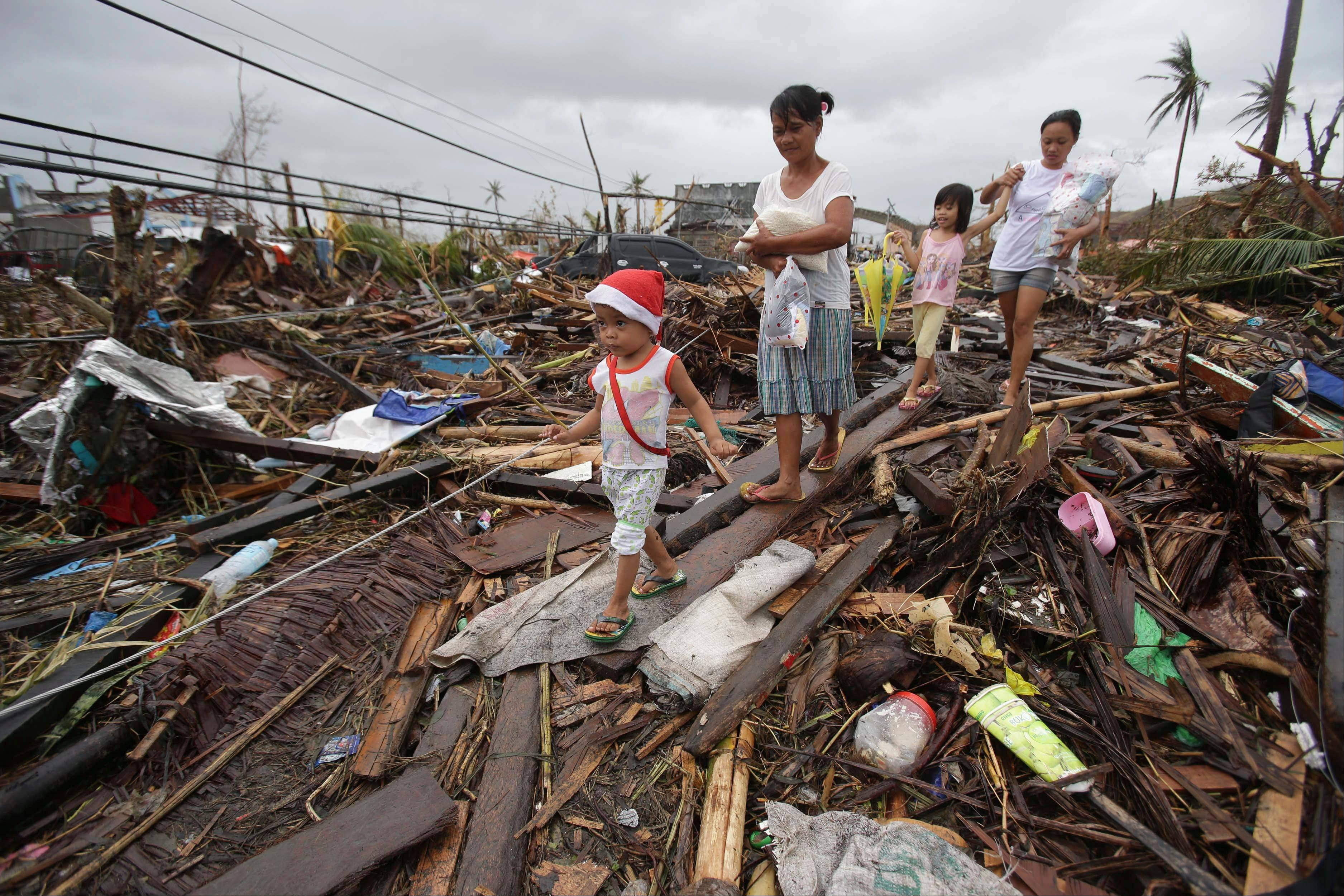 Typhoon highlights weak Philippine infrastructure