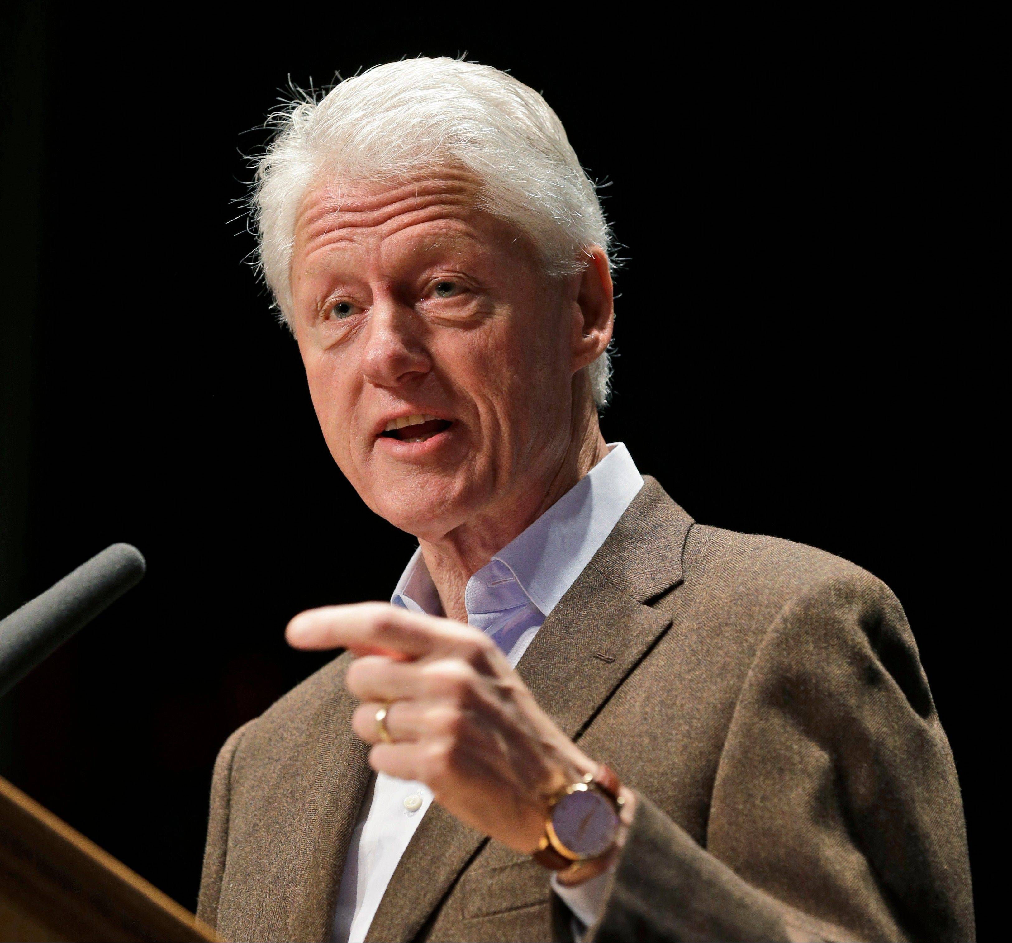 Adding to growing pressure on the White House, former President Bill Clinton said Tuesday that President Barack Obama should find a way to let people keep their health coverage.