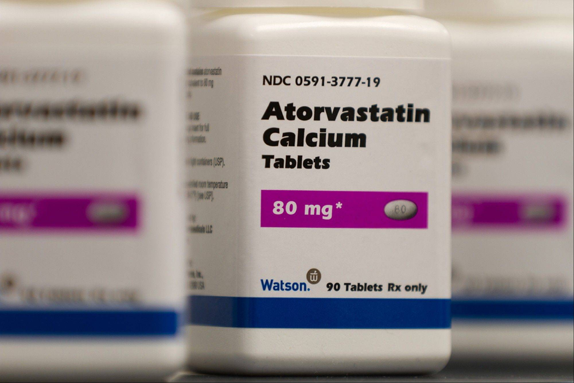 Atorvastatin Calcium tablets, a generic form of Lipitor, is being sold under a deal with Pfizer. The nation's first new guidelines in a decade for preventing heart attacks and strokes call for twice as many Americans -- one-third of all adults -- to consider taking cholesterol-lowering statin drugs.