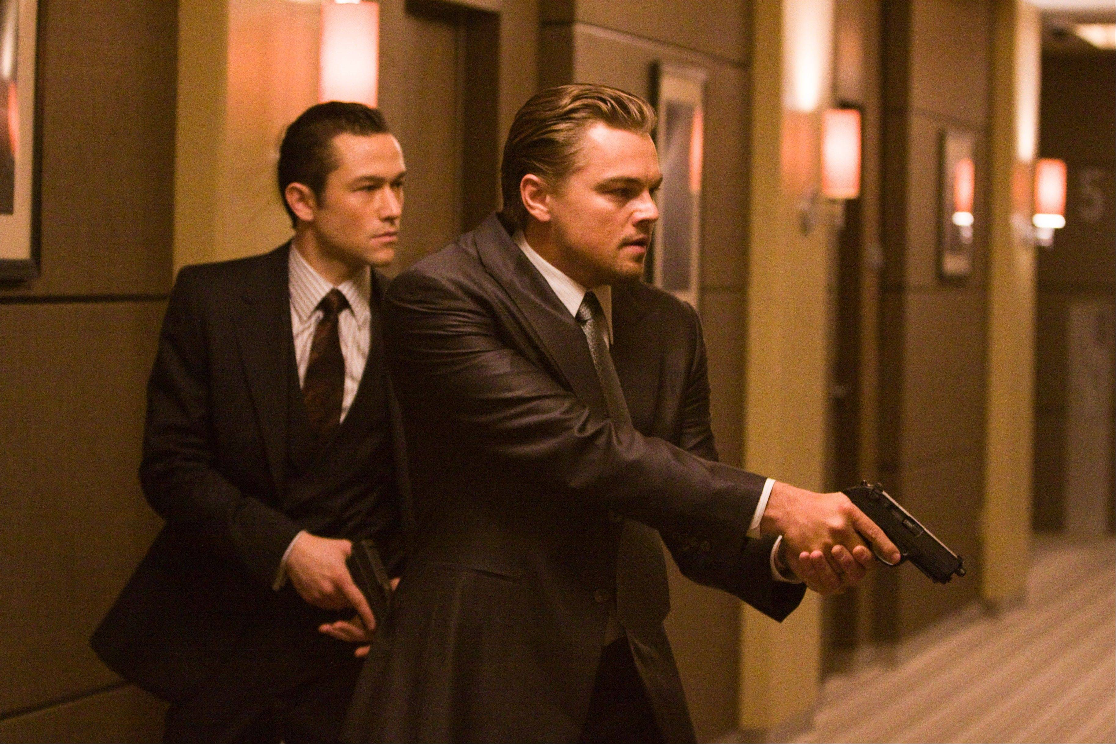 Joseph Gordon Levitt, left, and Leonardo DiCaprio star in �Inception,� which is rated PG-13. Ohio State University and the Annenberg Public Policy Center at the University of Pennsylvania surveyed gun violence in top-grossing movies, finding that it had more than tripled in PG-13 films since 1985.