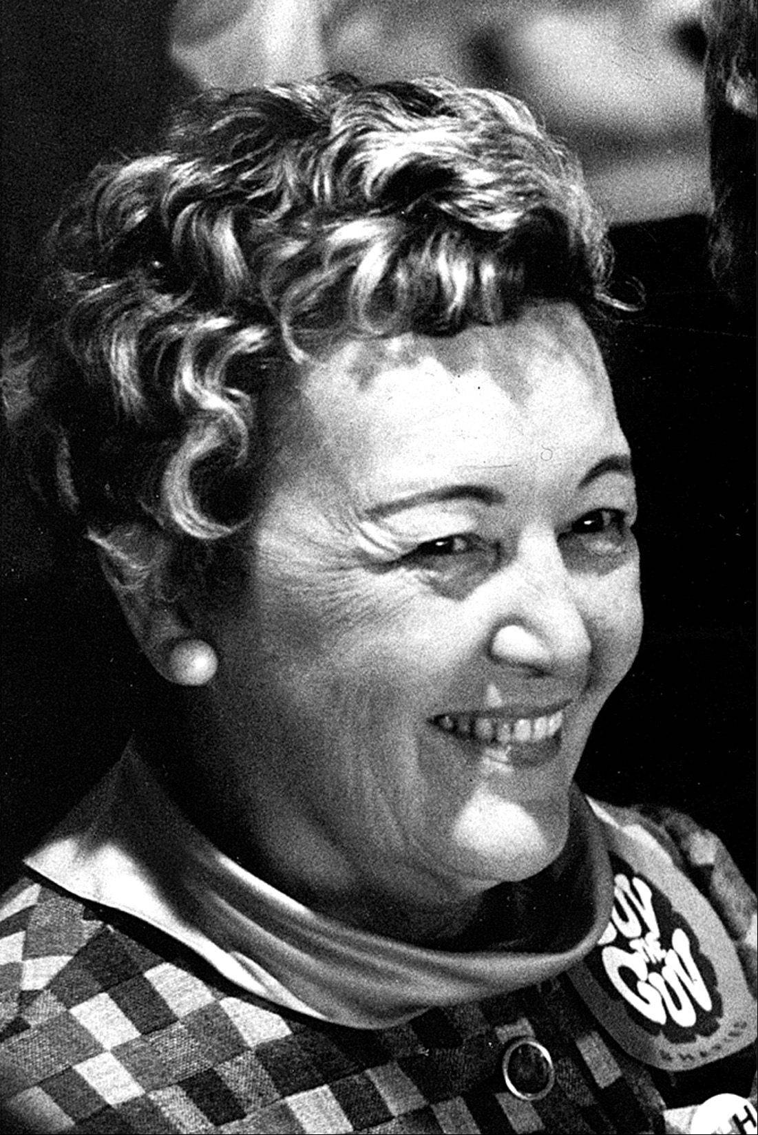 "Eleanor ""Sis"" Daley was Chicago's first lady for more than 20 years. She died in 2003."