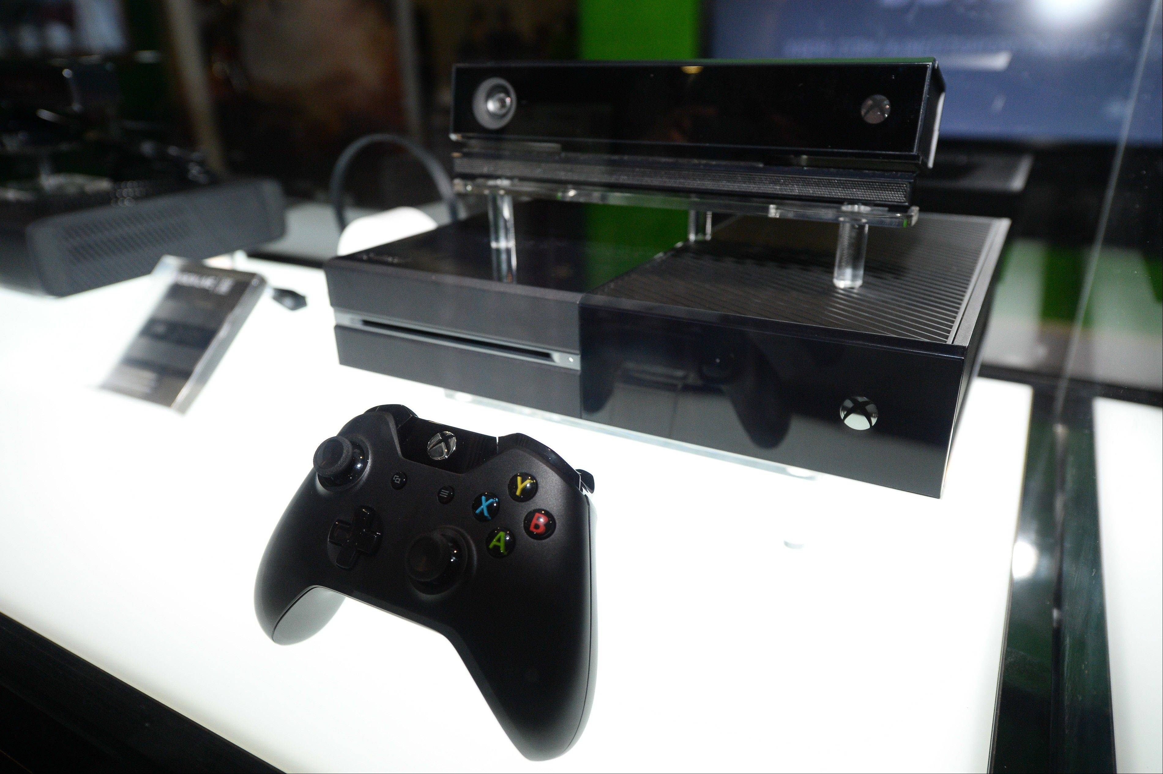 Microsoft's Xbox One console is set for release Nov. 22.
