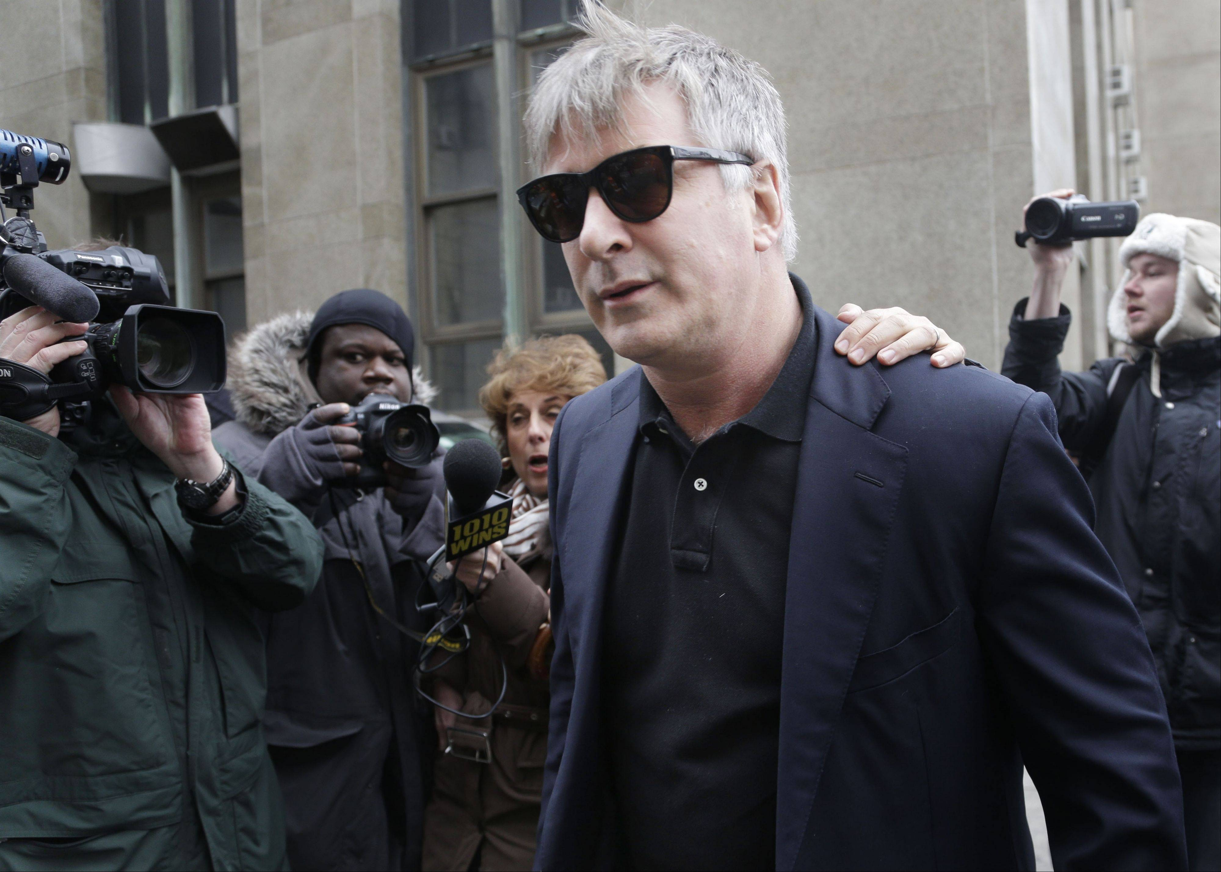 Alec Baldwin testified that after he met Canadian actress Genevieve Sabourin she began leaving dozens of voice mails for him a night and eventually started threatening to show up at his homes. Sabourin was sentenced Thursday to six months in jail by a judge who found her guilty of stalking Alec Baldwin in New York.