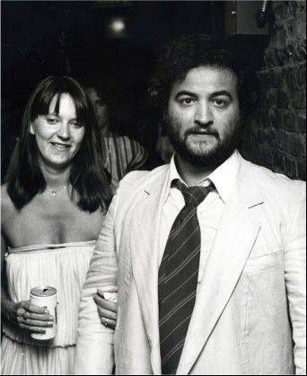 "Sweethearts at Wheaton High School before their marriage, John and Judy Belushi arrive at the 1978 premiere of ""National Lampoon's Animal House."" The comedian starred in the iconic movie, and his wife had small parts in memorable scenes."