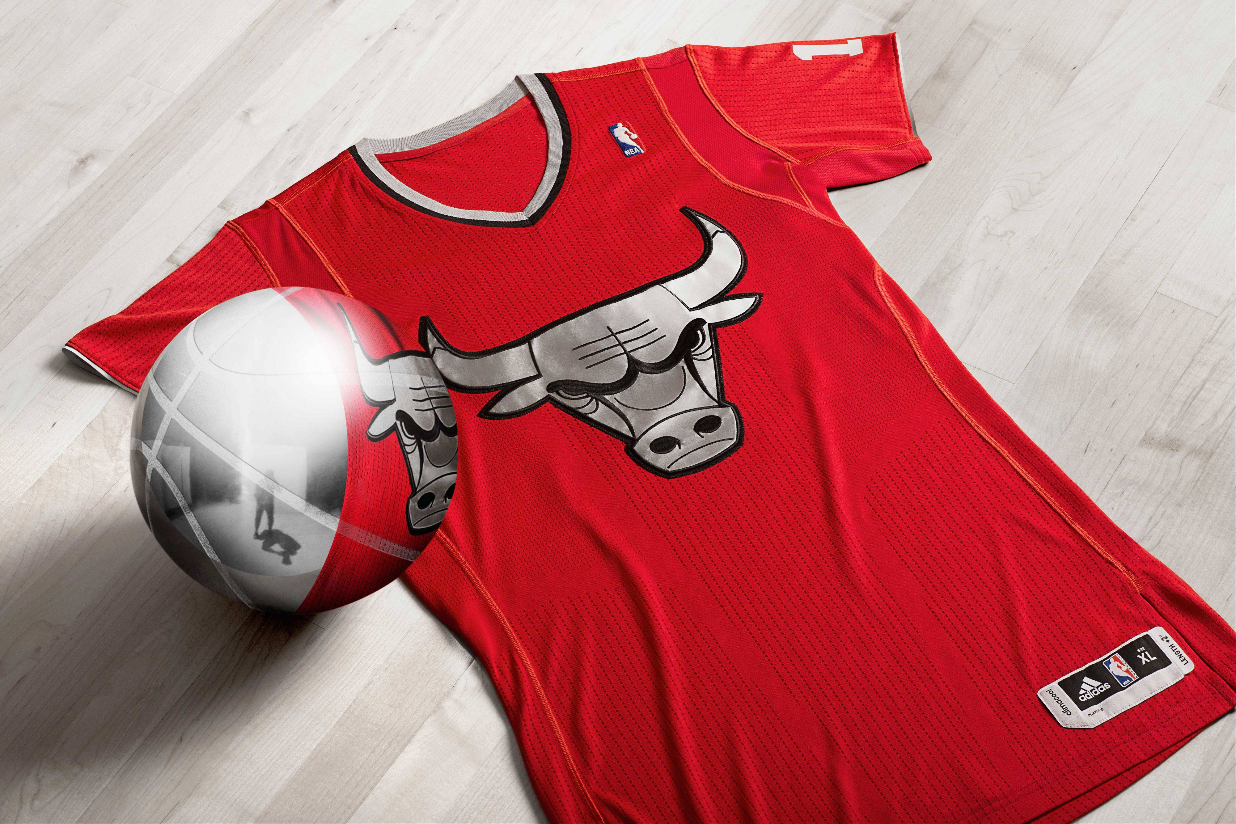 Photo courtesy of the NBAIn addition to the jerseys, the NBA will market other products featuring the BIG Logo design for fans to purchase.