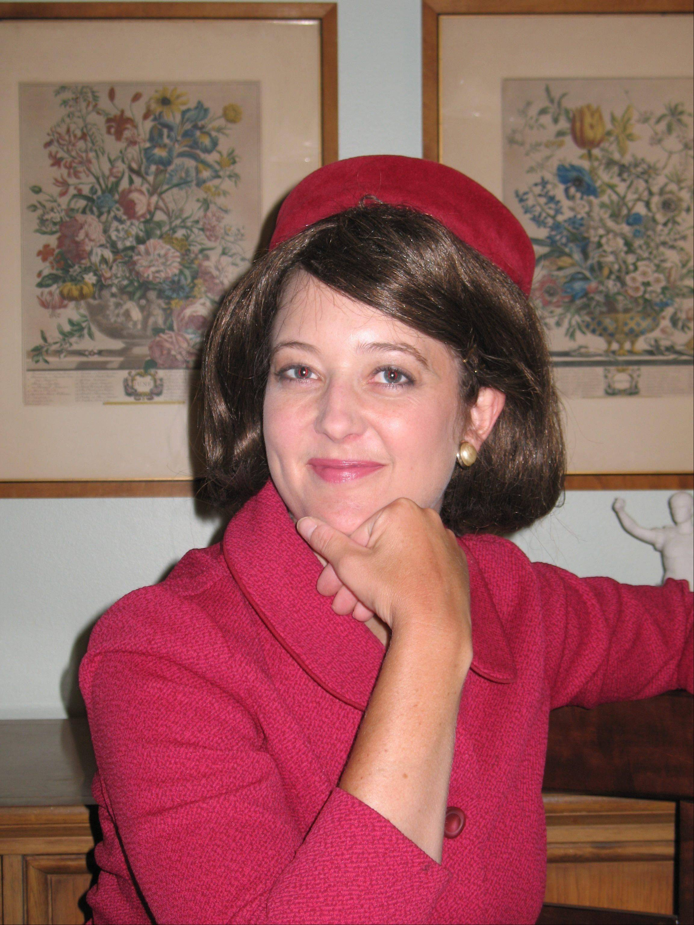Leslie Goddard will portray Jacqueline Kennedy Tuesday, Nov. 19.