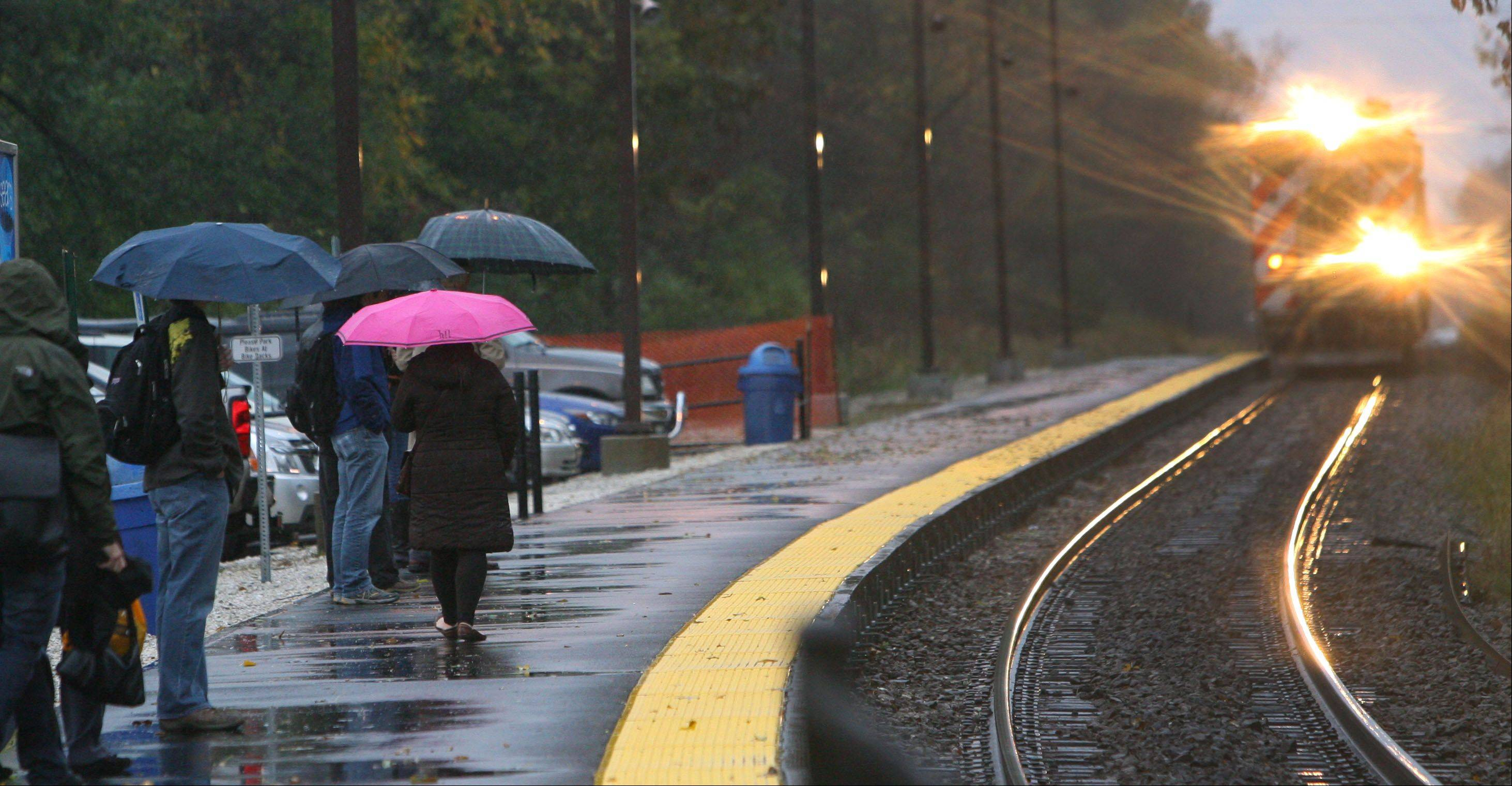 UP Line commuters promised a break from wind delays