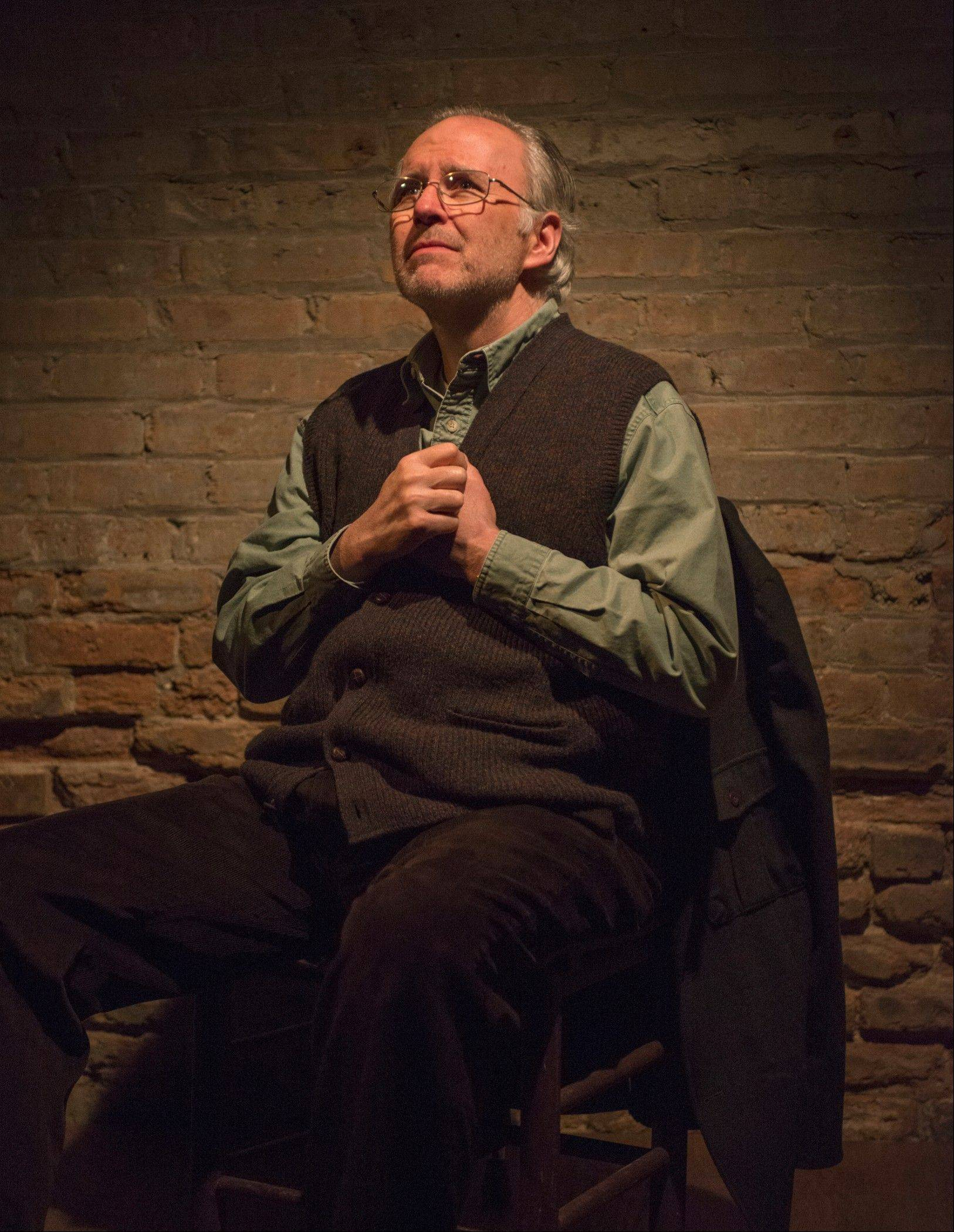 "Patrick Clear co-stars as Joe, a man recalling an affair that never was in Writers Theatre's Midwest premiere of ""Port Authority,"" by Irish playwright Conor McPherson."