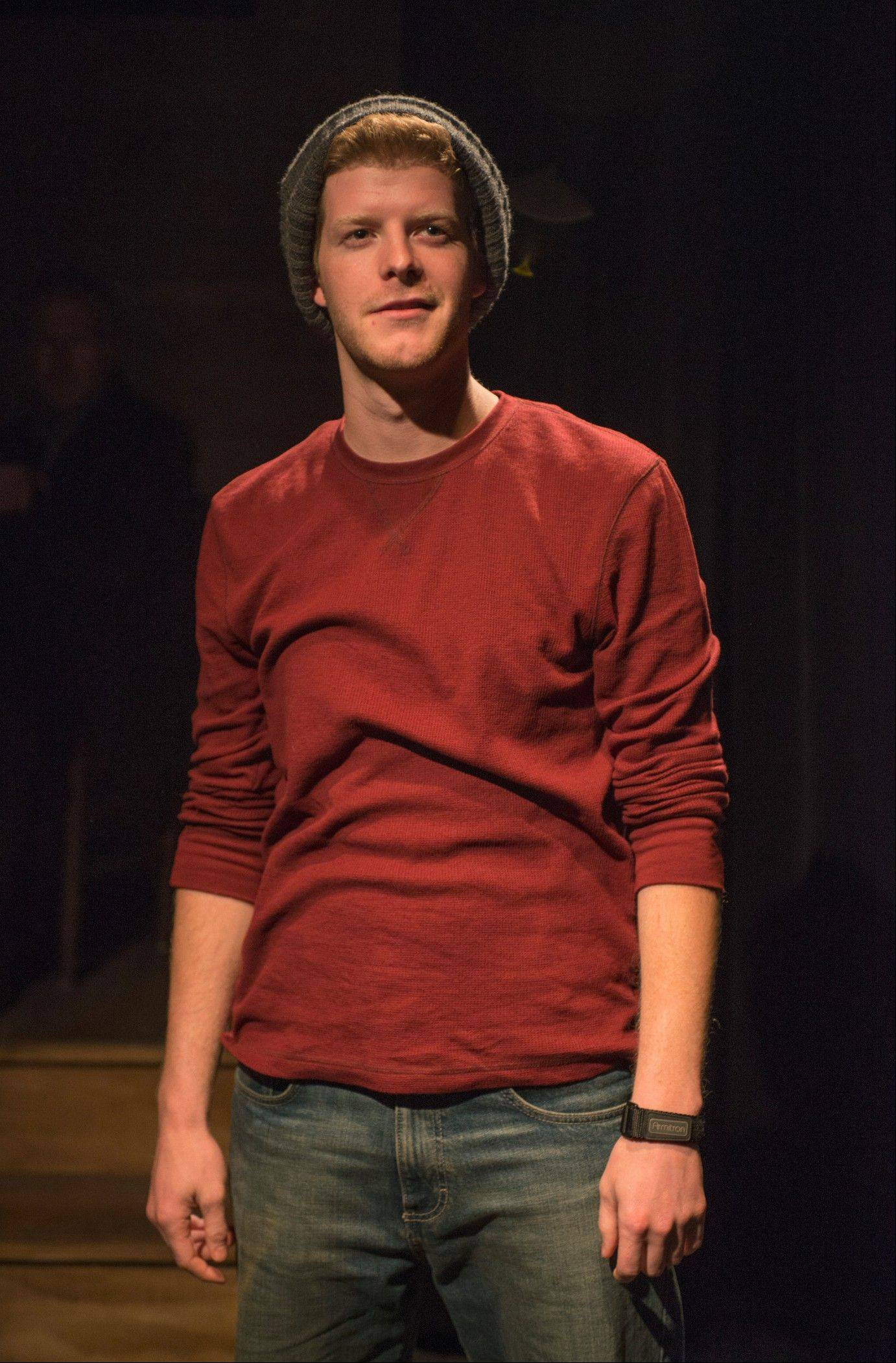 "Rob Fenton plays Kevin, a young Dublin man on his own for the first time, who meets a young woman who just may be the one, in Conor McPherson's ""Port Authority,"" in its Midwest premiere at Writers Theatre."