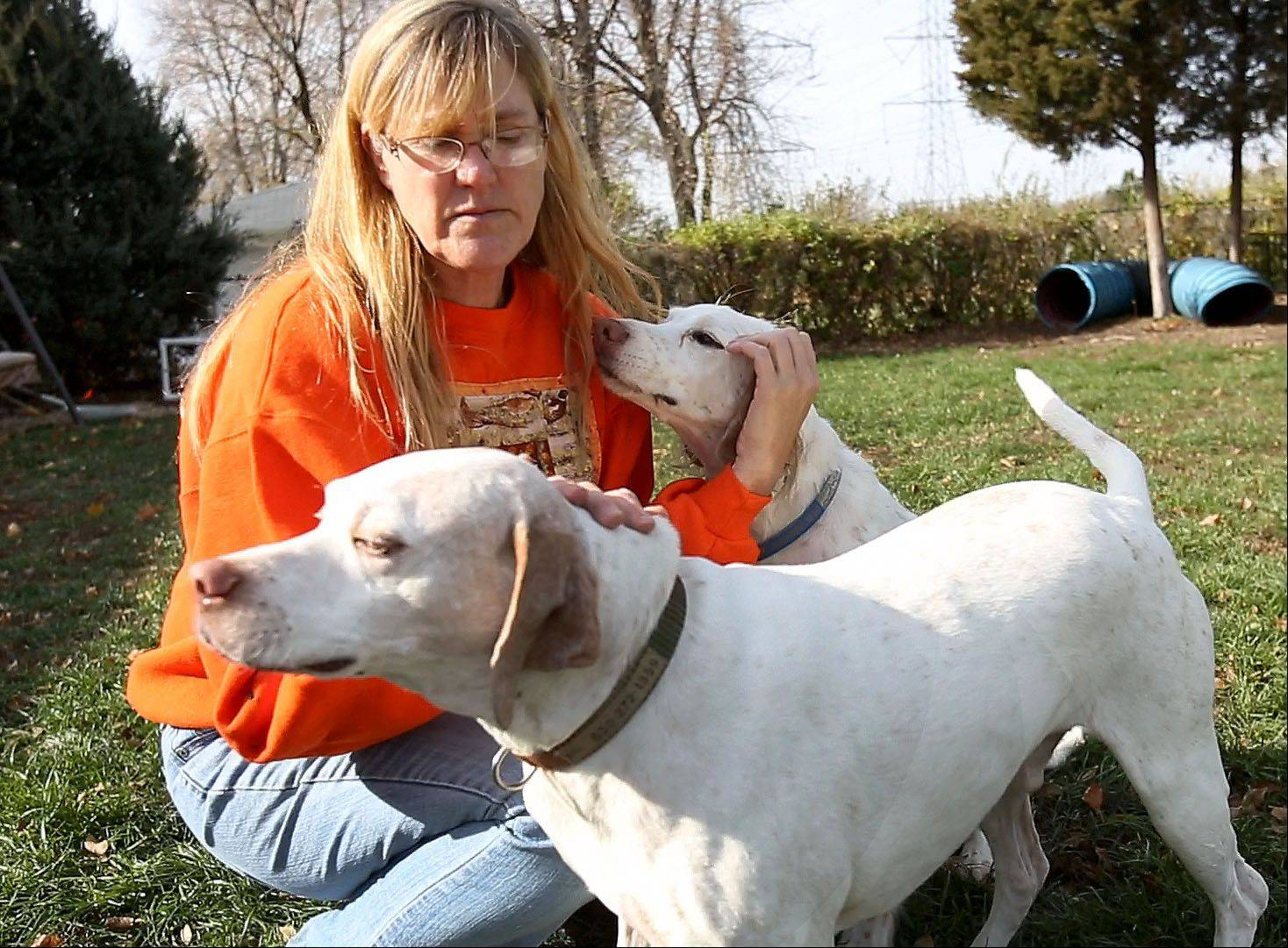 Spakowski also faces the possibility of losing two of her dogs in order to comply with a city ordinance that limits the number of animals to three per household.